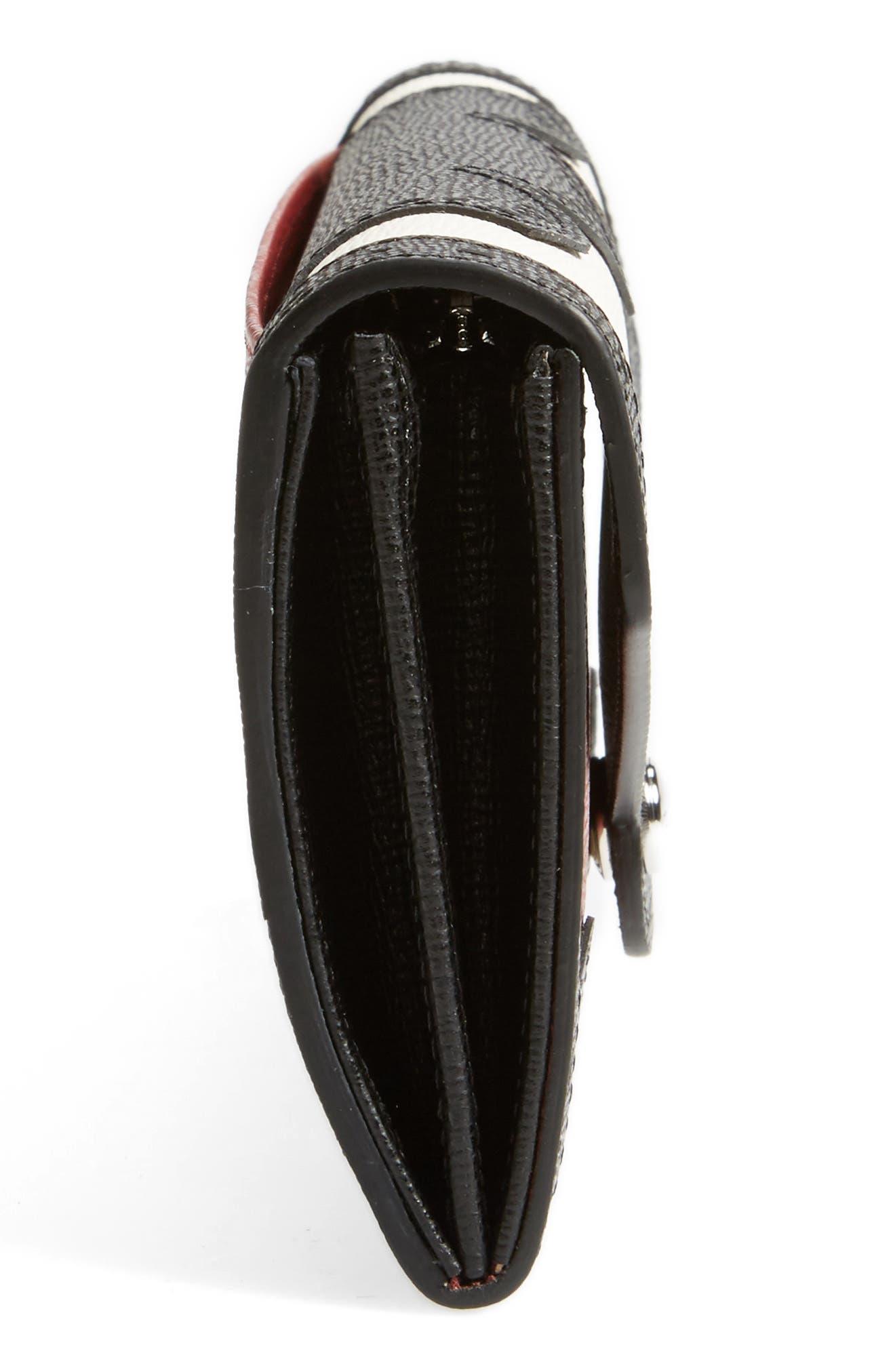 Alternate Image 4  - Longchamp Effrontée Leather Wallet