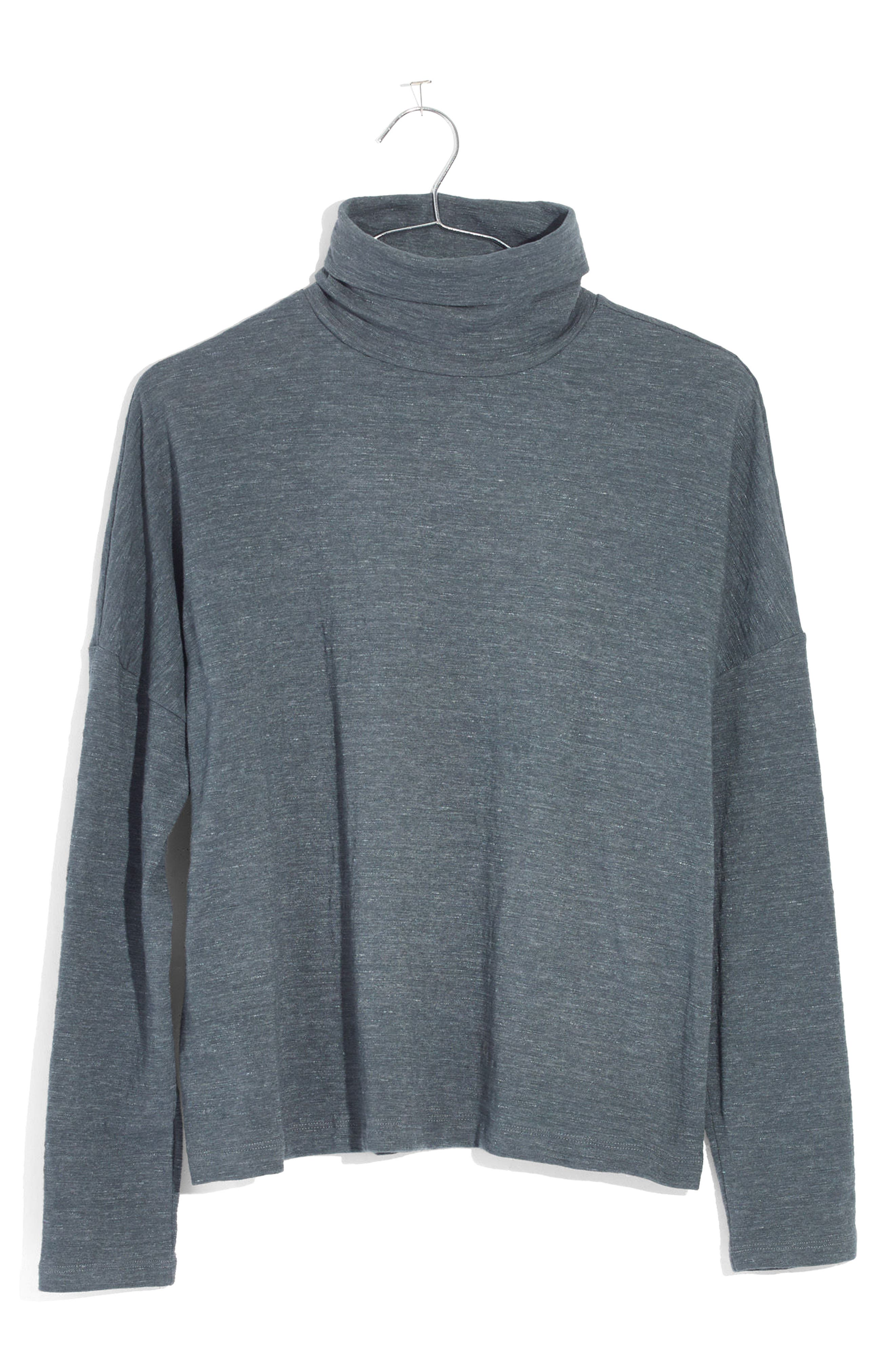 Madewell Boxy Turtleneck Top