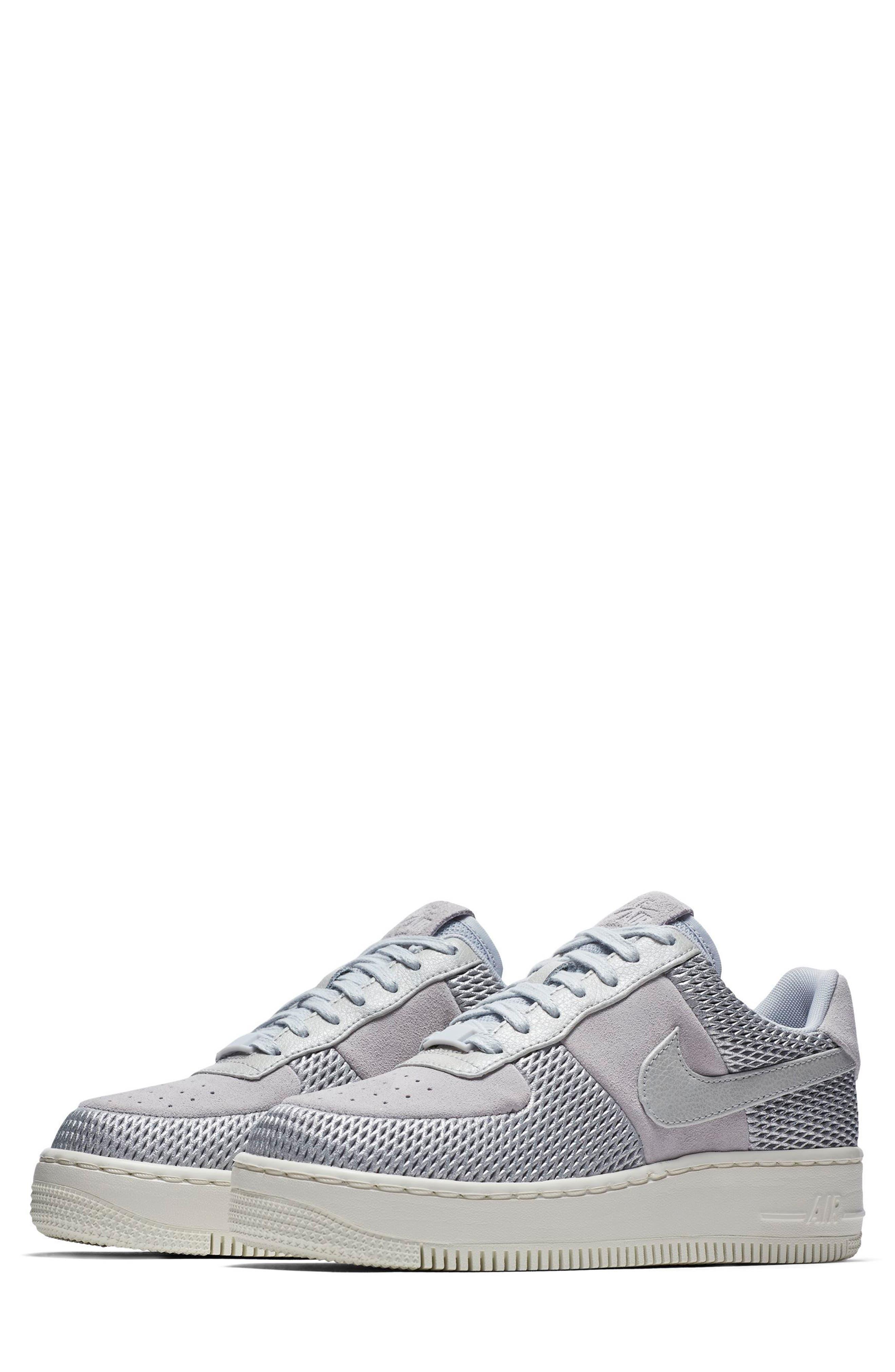 Nike Air Force 1 Upstep Premium Platform Sneaker (Women)