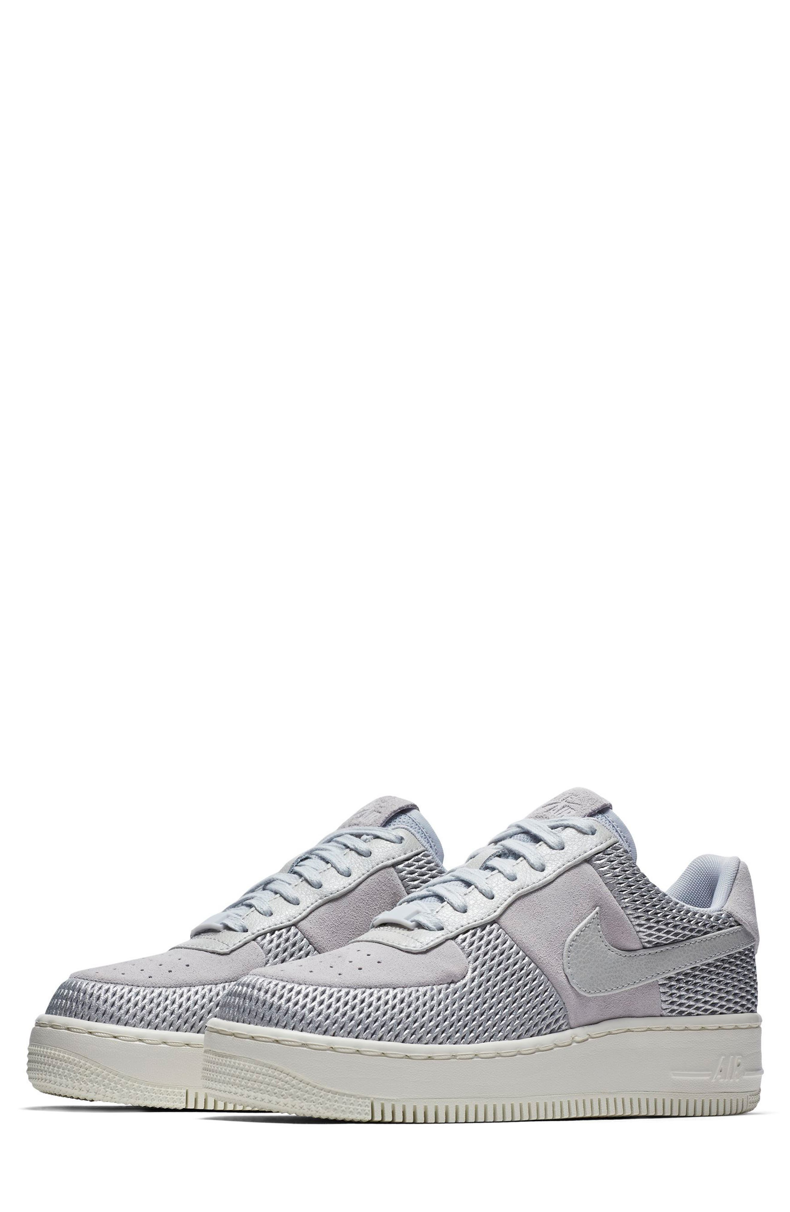 Nike Air Force 1 Upstep Premium Platform Sneaker (Women)