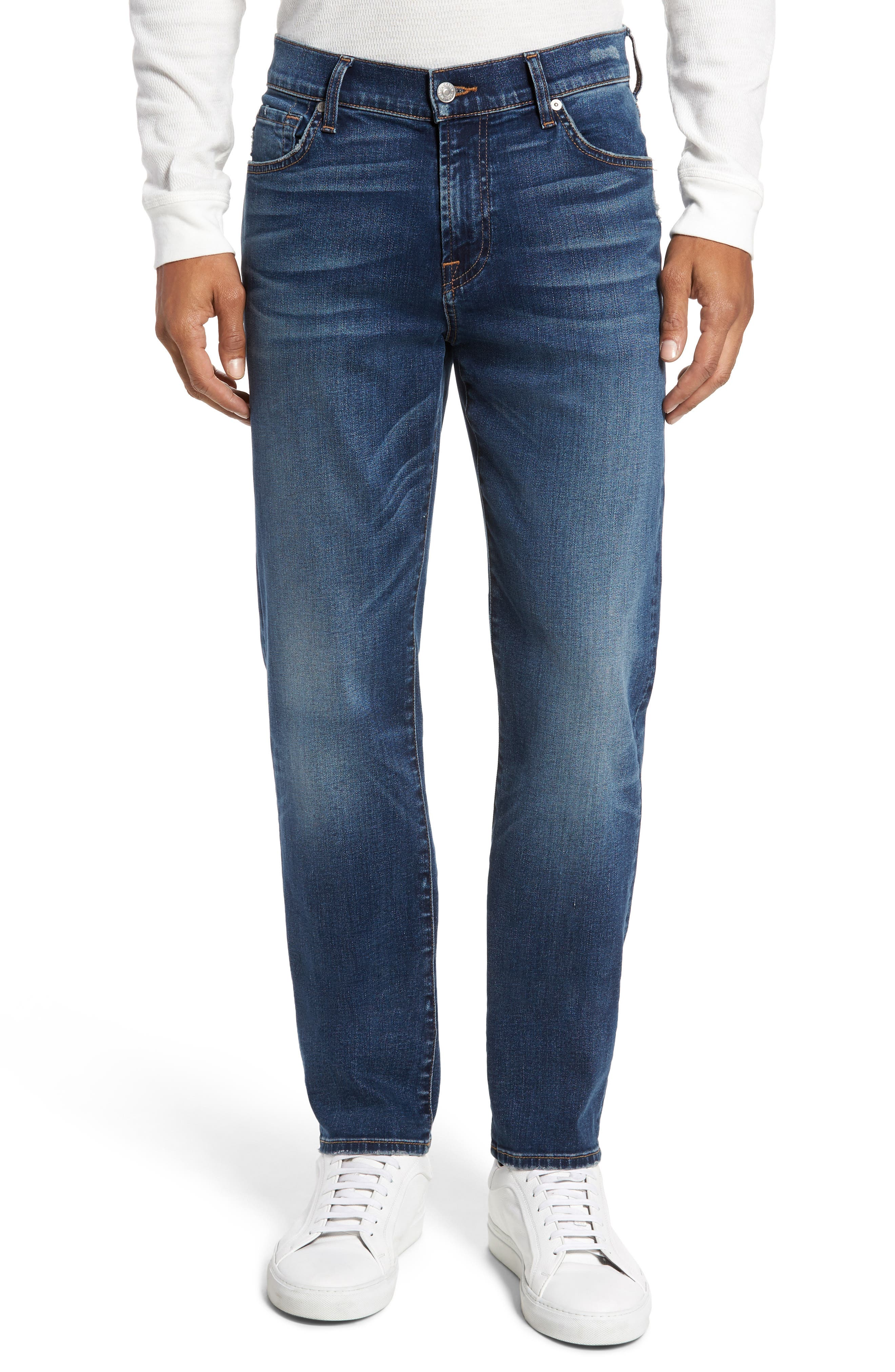 Alternate Image 1 Selected - 7 For All Mankind® Slimmy Slim Fit Jeans (Union)