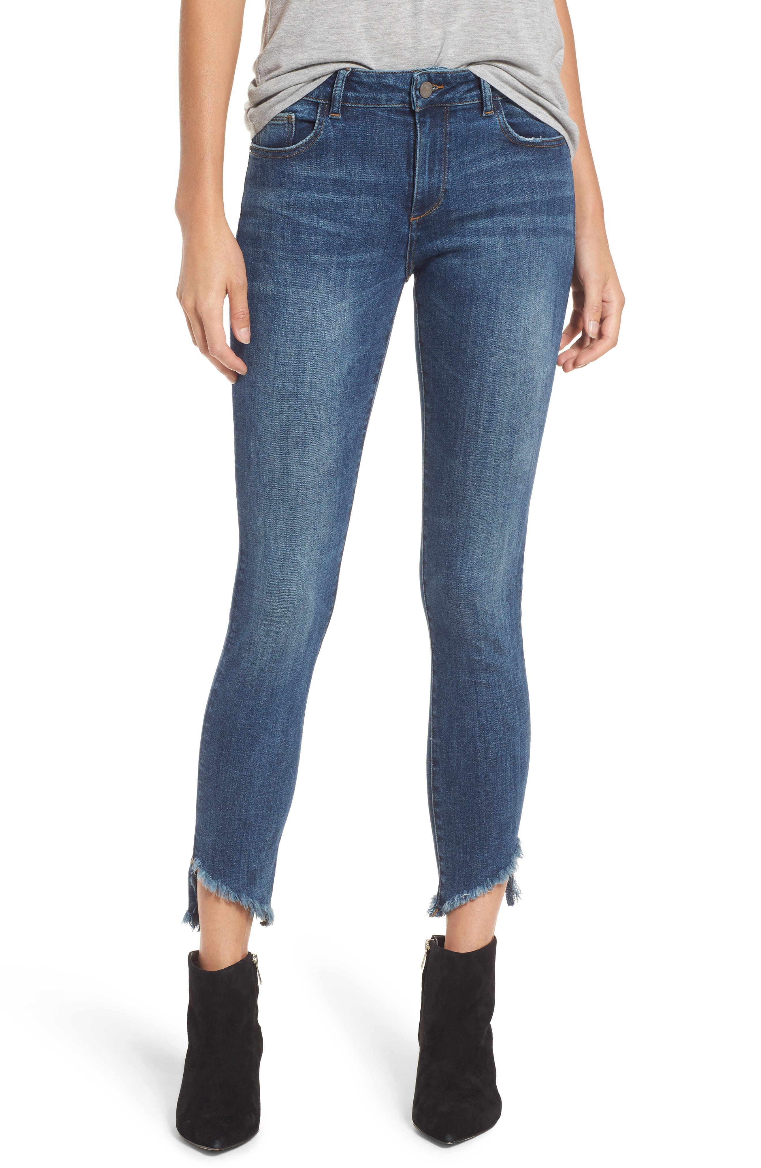 Margaux Instasculpt Ankle Skinny Jeans,                             Main thumbnail 1, color,                             Crawford