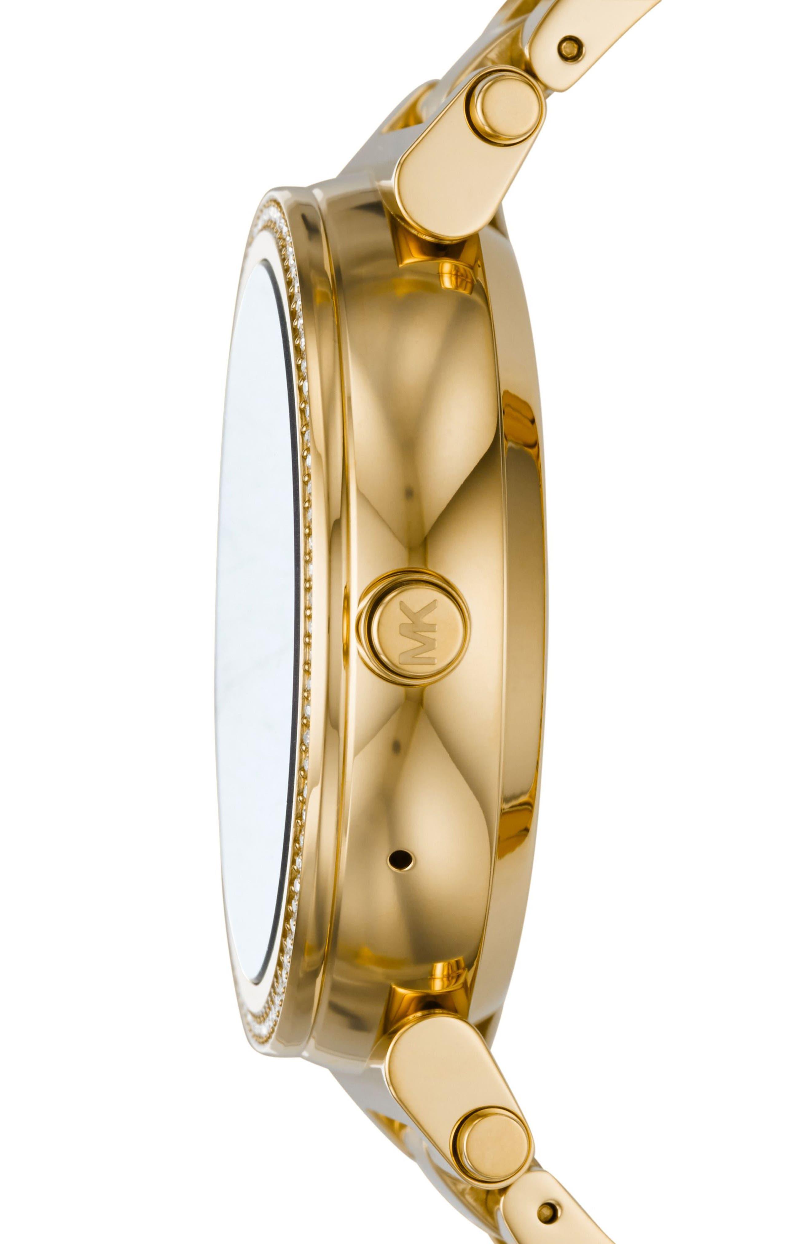 Alternate Image 6  - Michael Kors Access Sofie Smart Bracelet Watch, 42mm