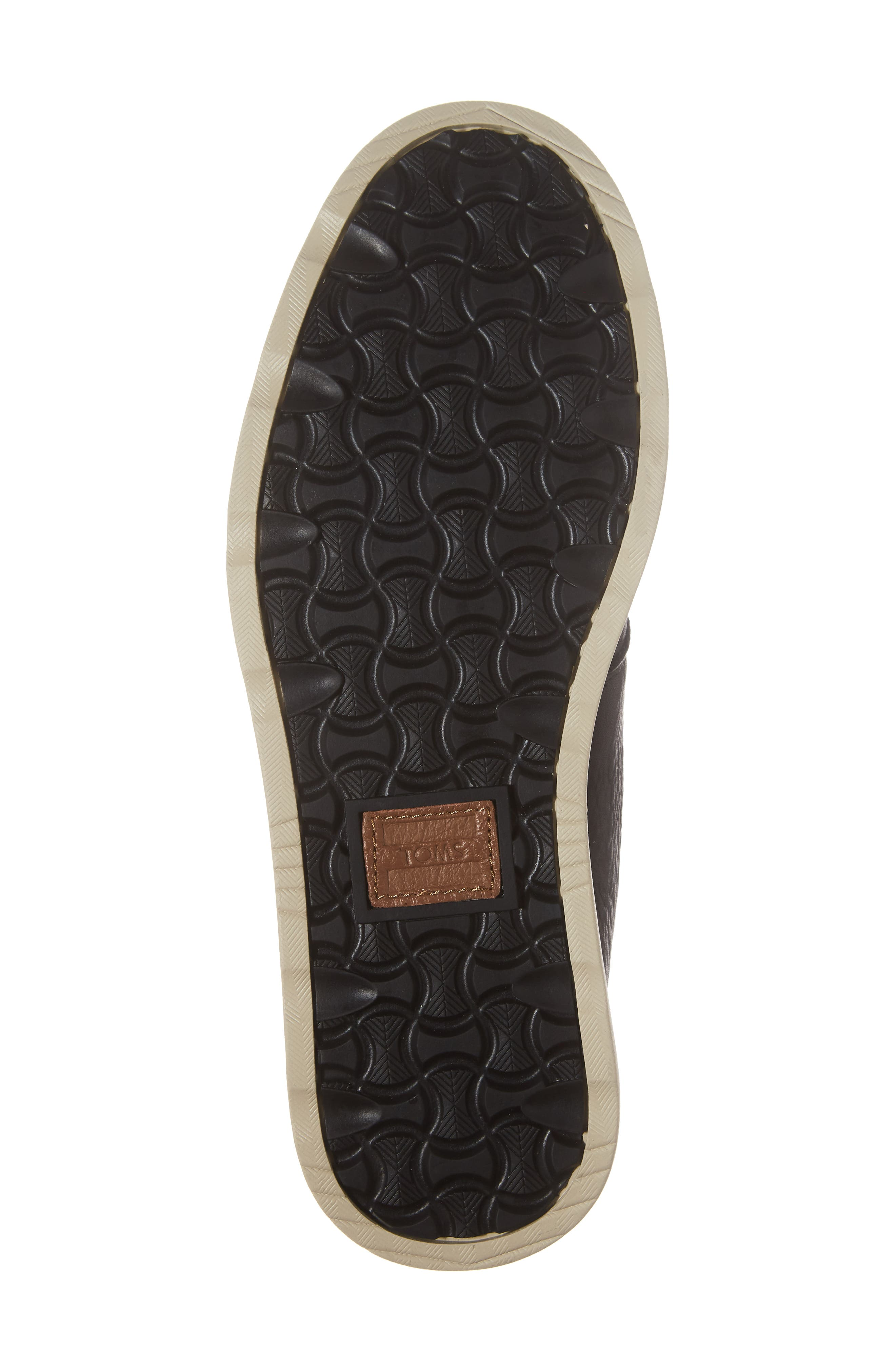 Chukka Boot,                             Alternate thumbnail 6, color,                             Black/Black Leather