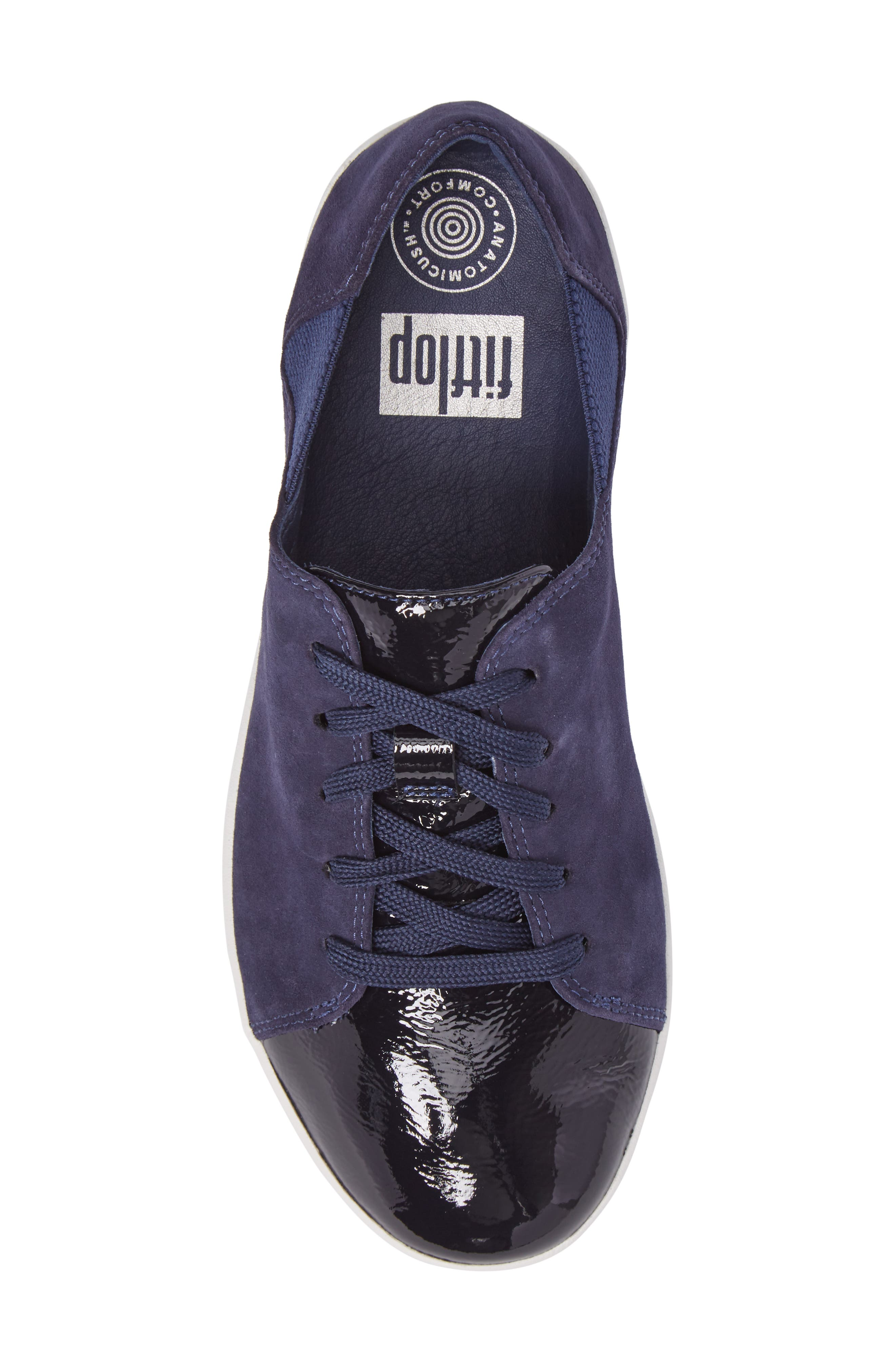 F-Sporty Sneaker,                             Alternate thumbnail 5, color,                             Midnight Navy Mix