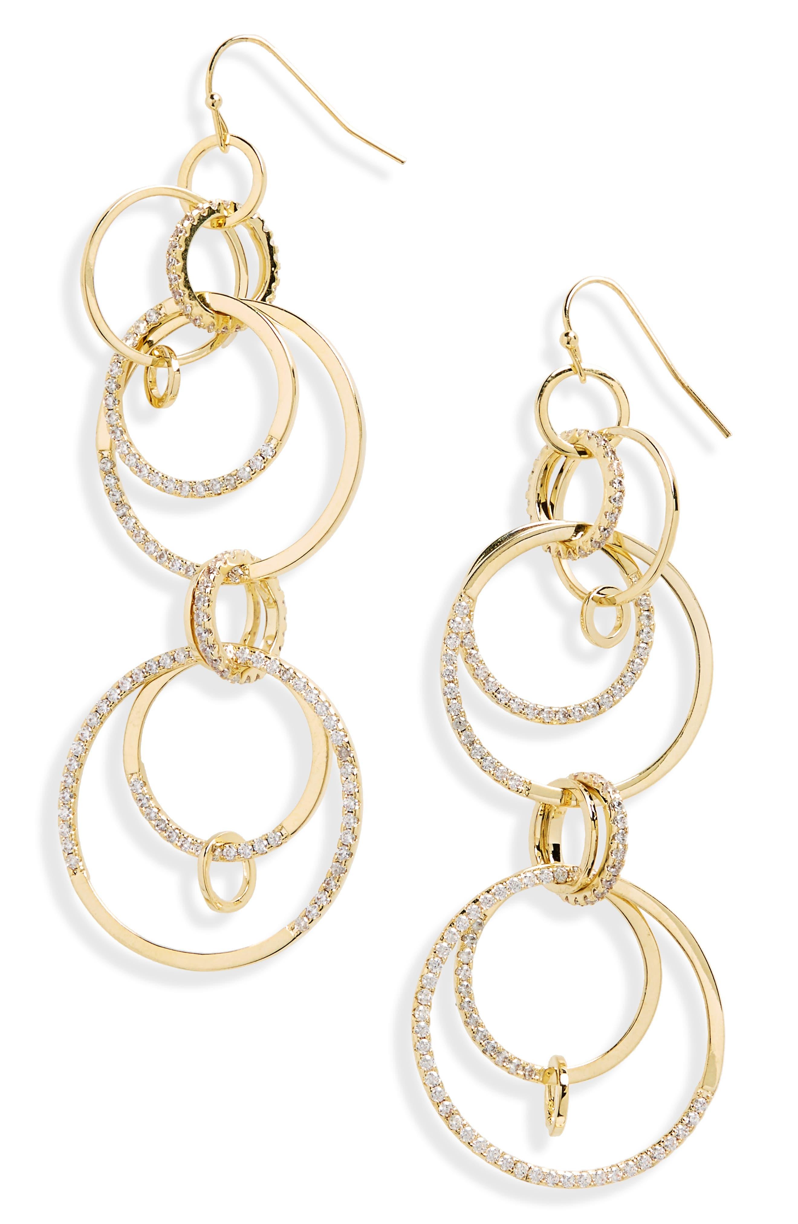 Main Image - Melinda Maria Laurel Drop Earrings