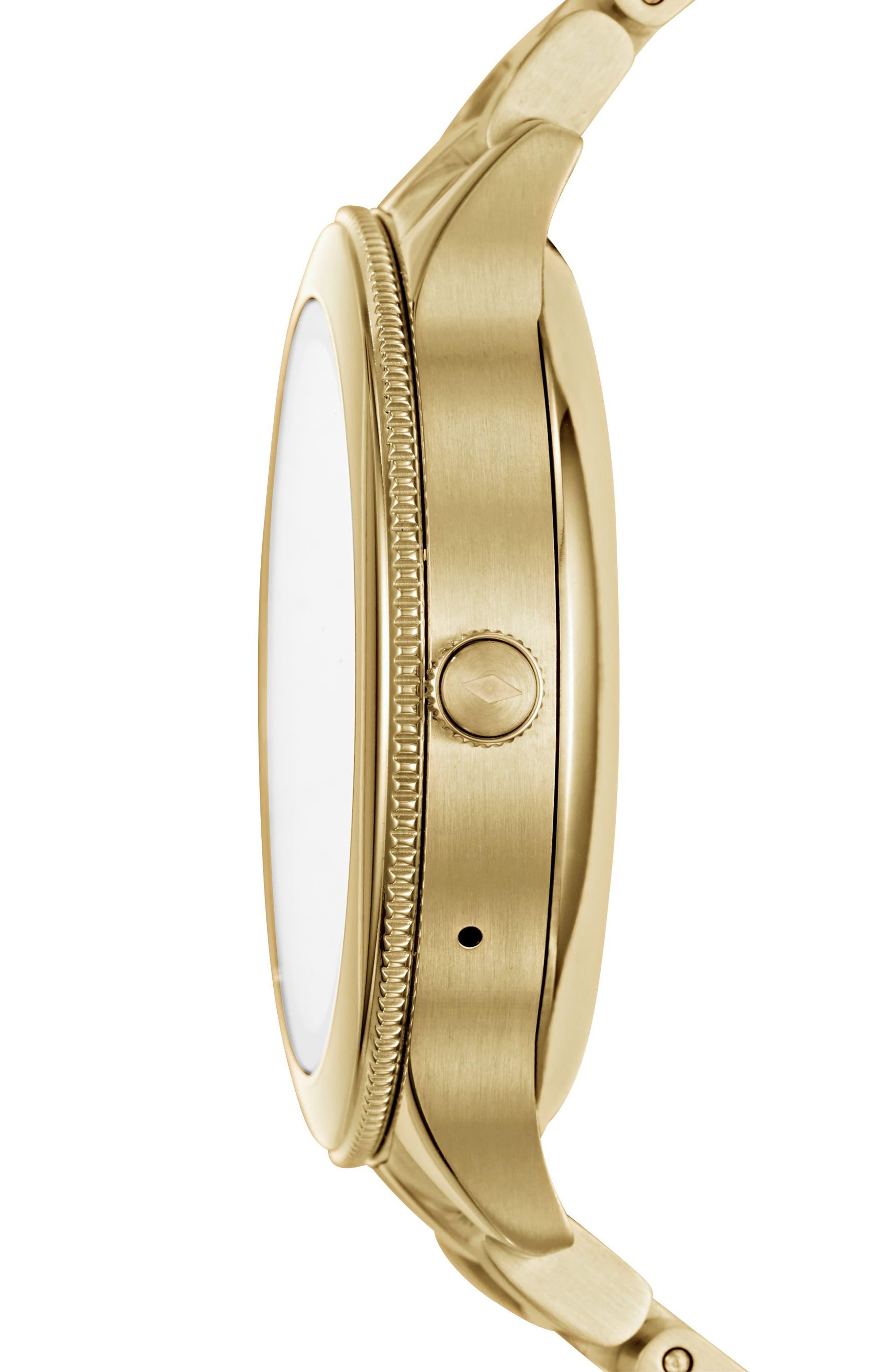 Venture Gen 3 Bracelet Smartwatch, 42mm,                             Alternate thumbnail 2, color,                             Gold