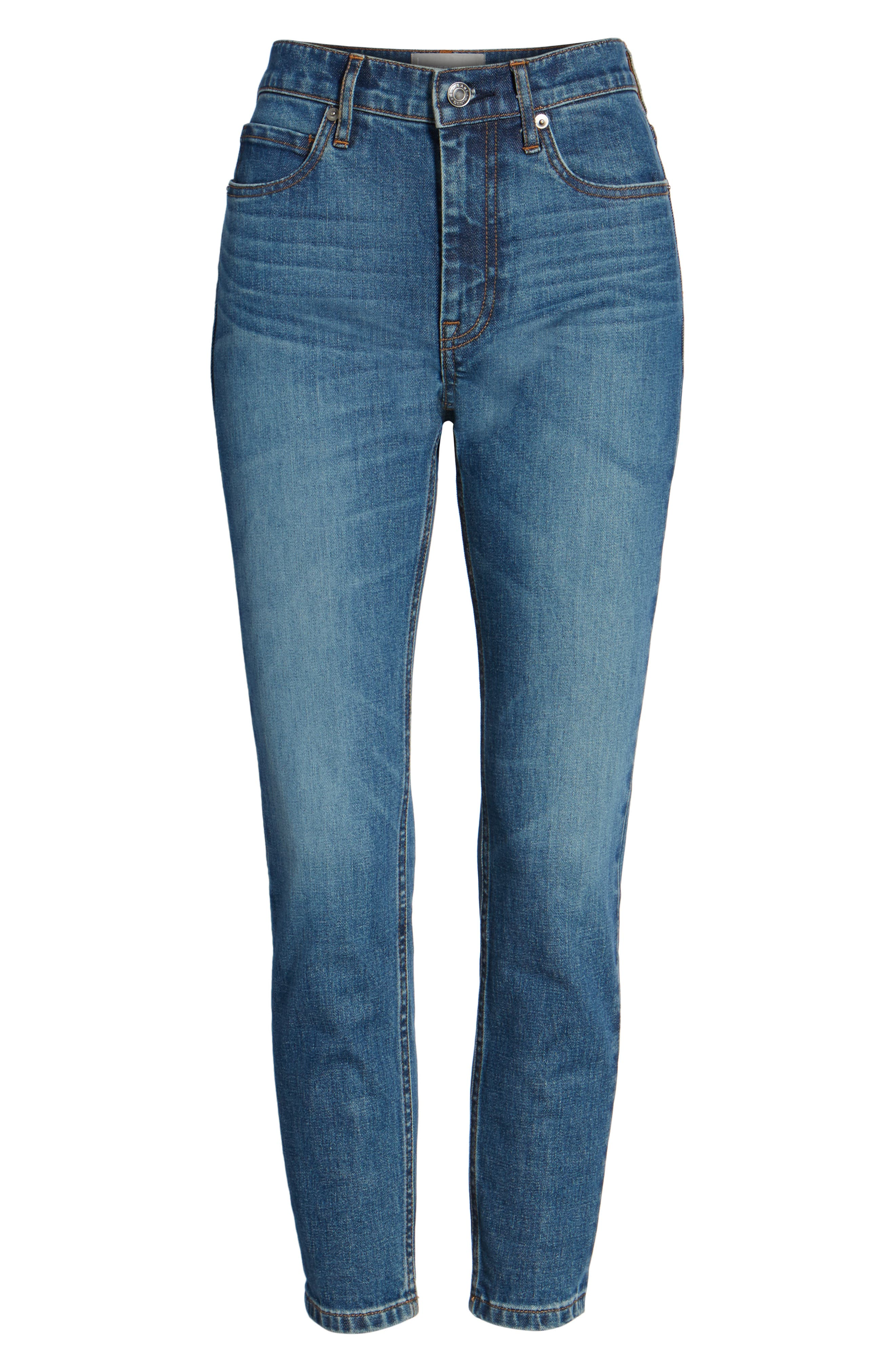 Alternate Image 5  - Everlane The Mid Rise Skinny Ankle Jeans