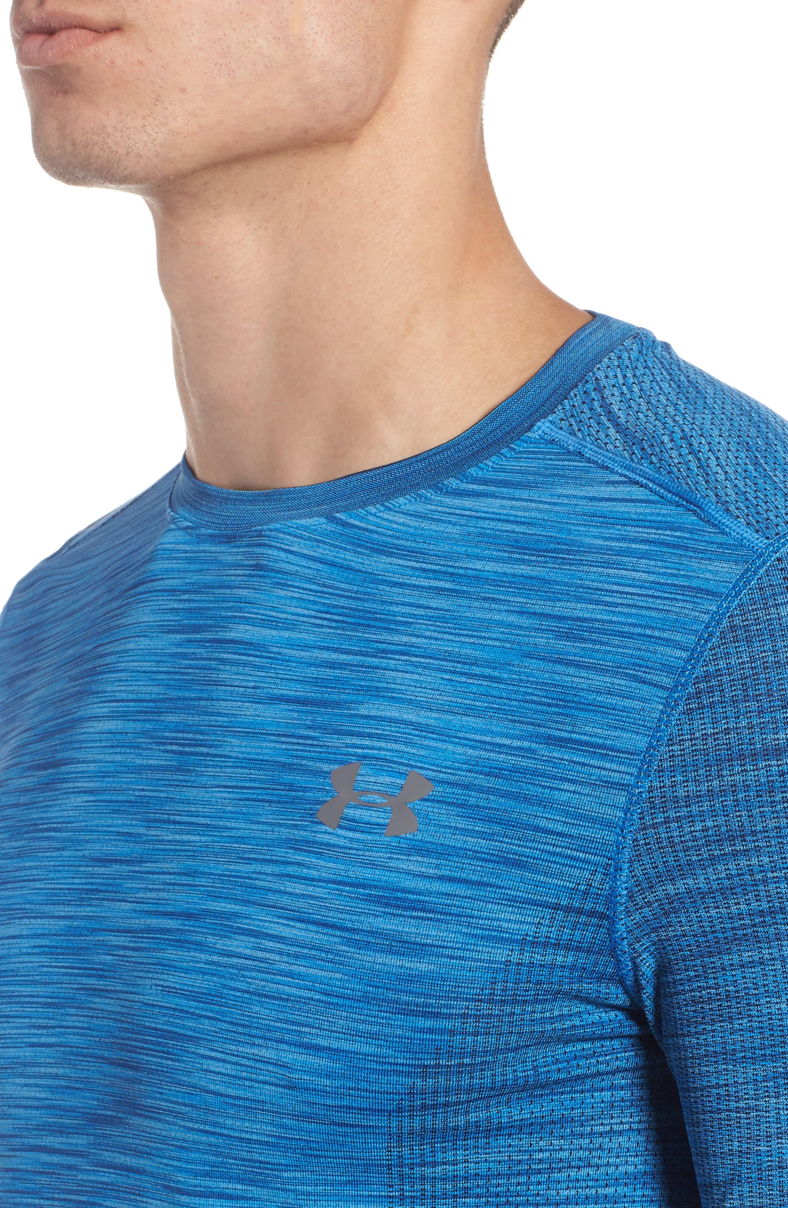 Alternate Image 4  - Under Armour Threadborne Regular Fit T-Shirt