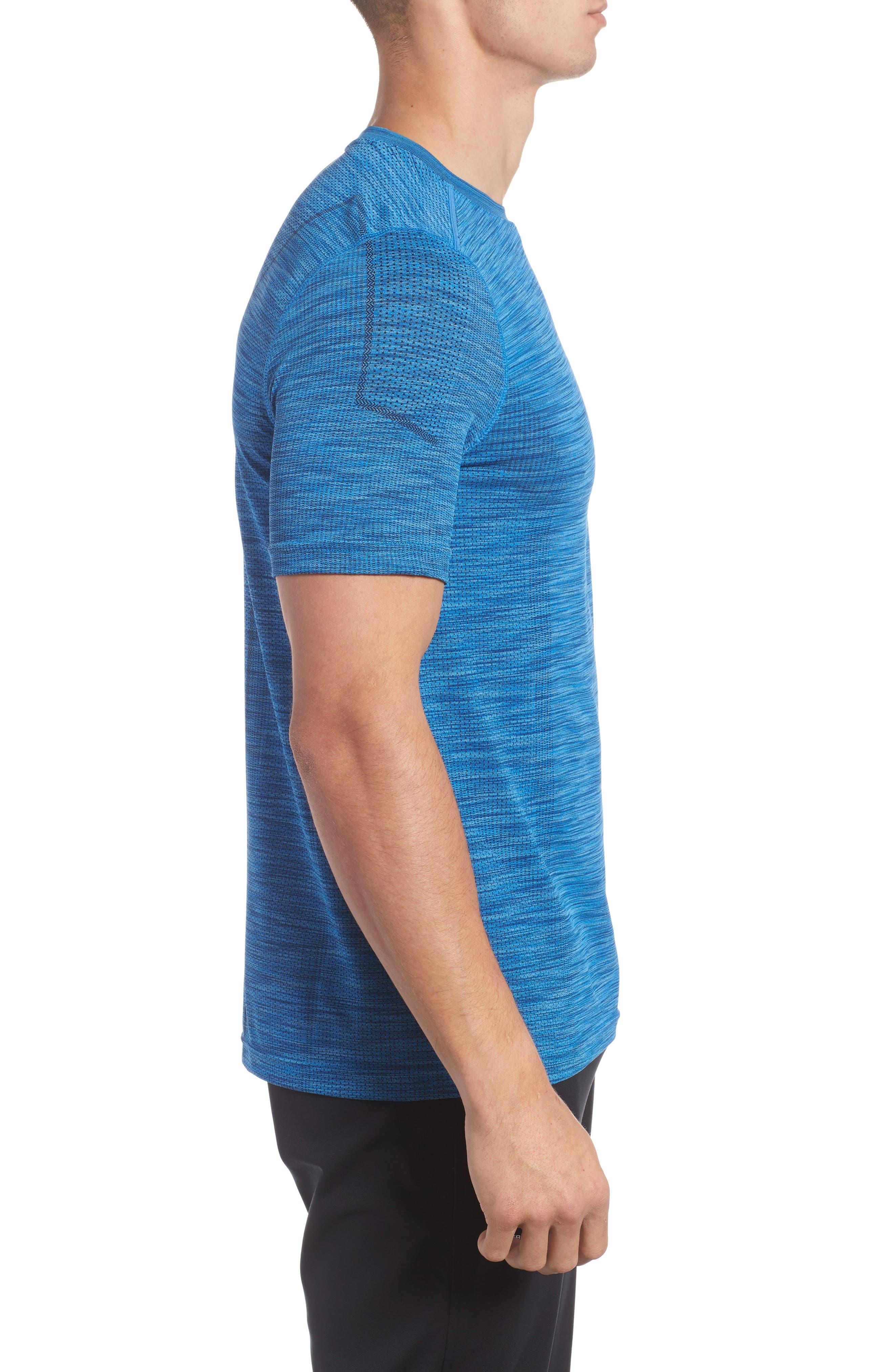 Alternate Image 3  - Under Armour Threadborne Regular Fit T-Shirt