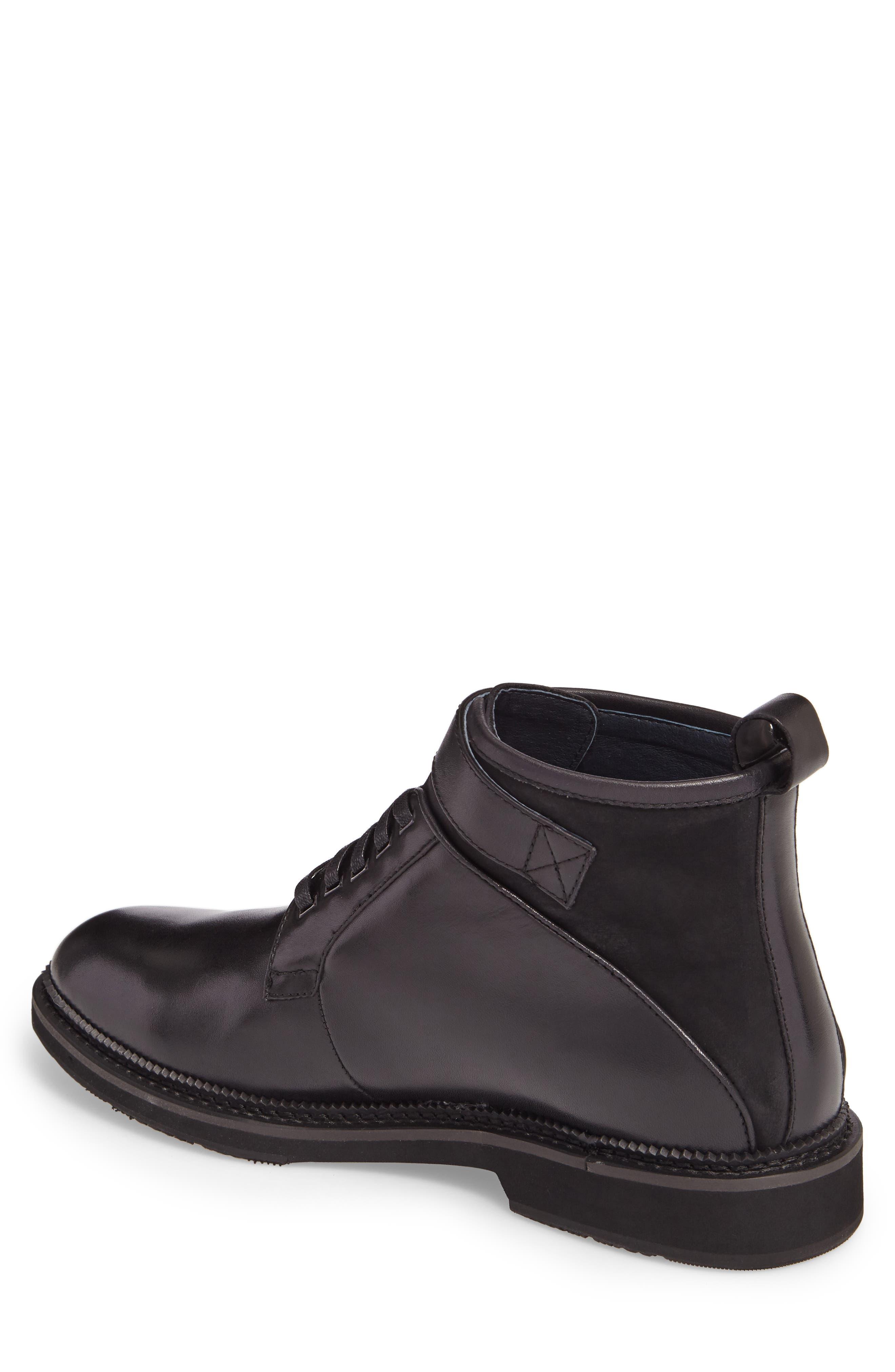 Alternate Image 2  - Zanzara Ginko Plain Toe Boot (Men)