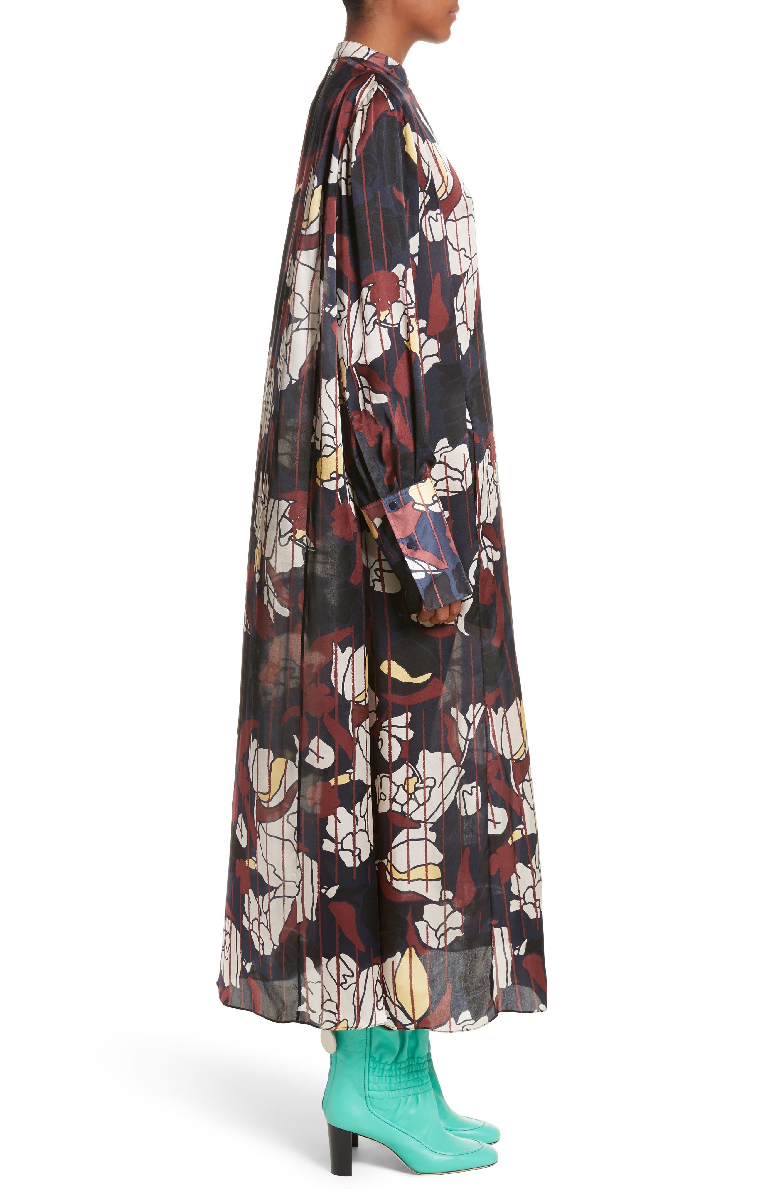Alternate Image 4  - Roksanda Anwyn Floral Silk Dress