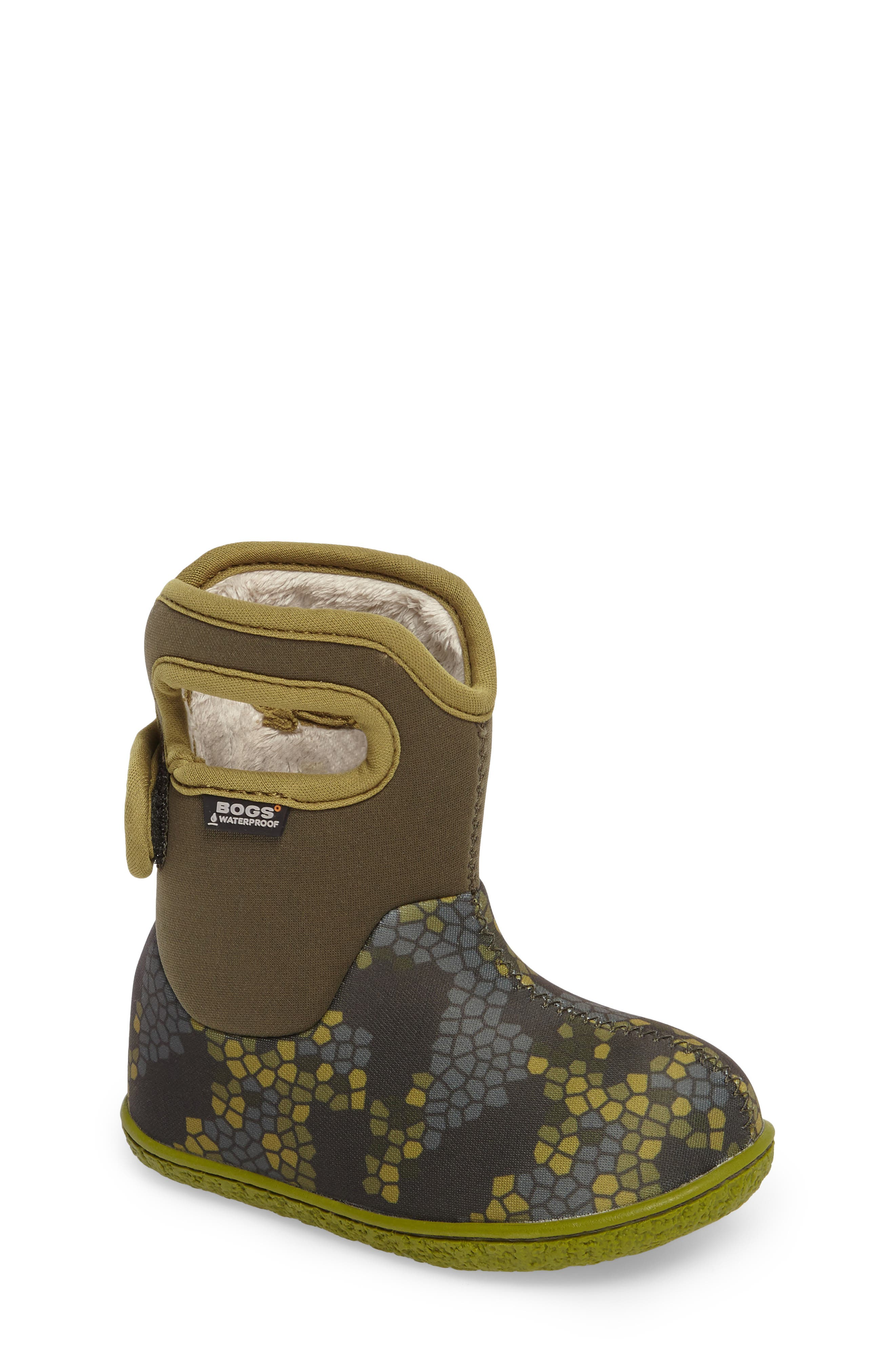 Alternate Image 1 Selected - Bogs Baby Bogs Classic Axel Washable Insulated Waterproof Boot (Baby, Walker & Toddler)