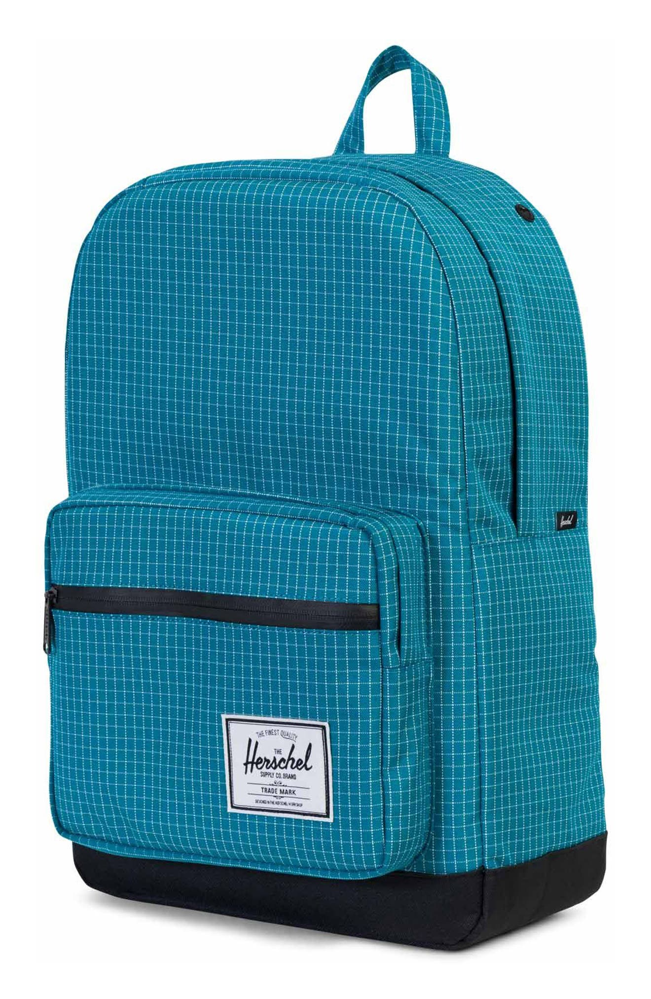 Pop Quiz Backpack,                             Alternate thumbnail 4, color,                             Ocean Grid