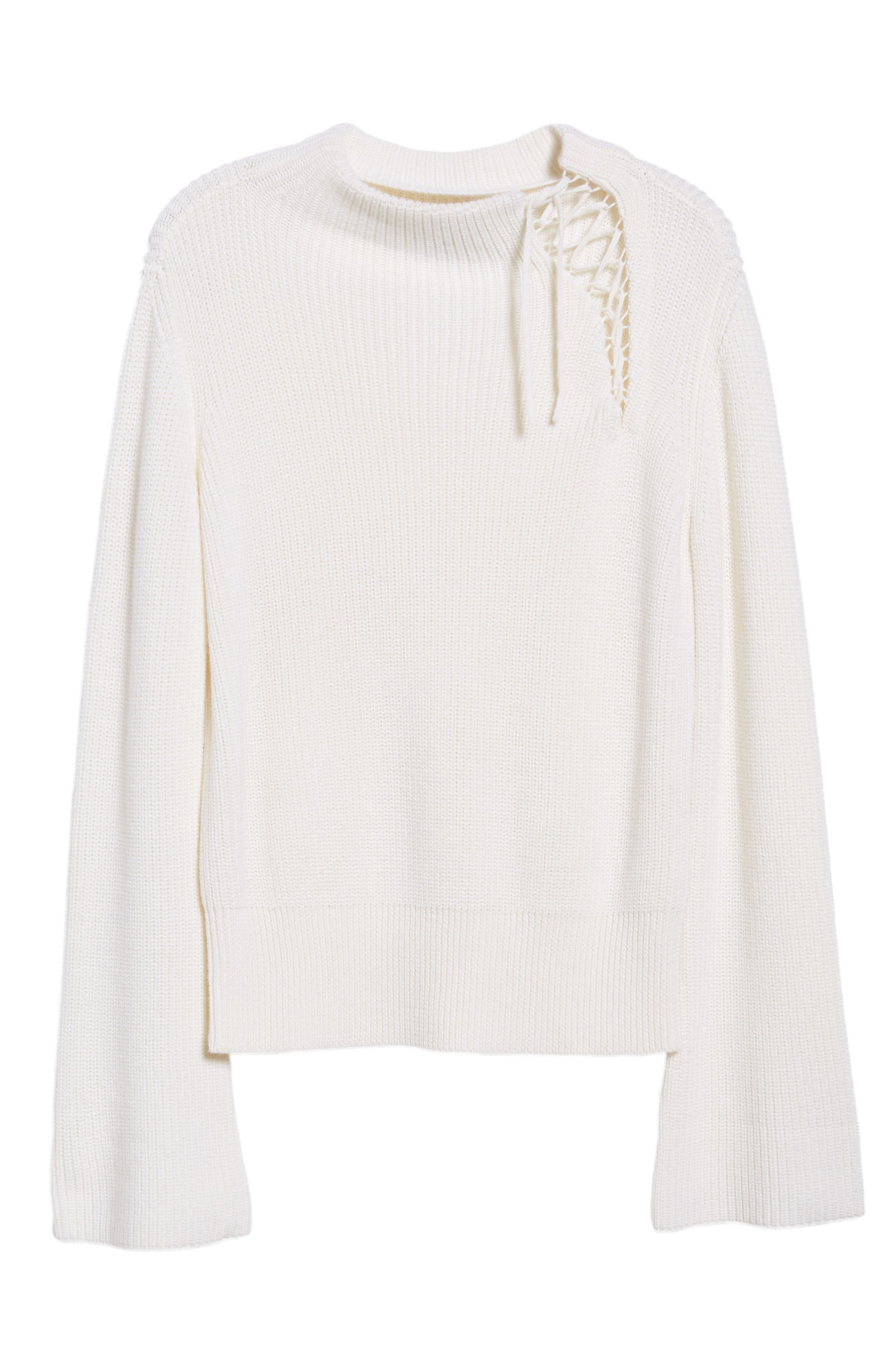 Alternate Image 6  - Ella Moss Gracey Mock Neck Sweater