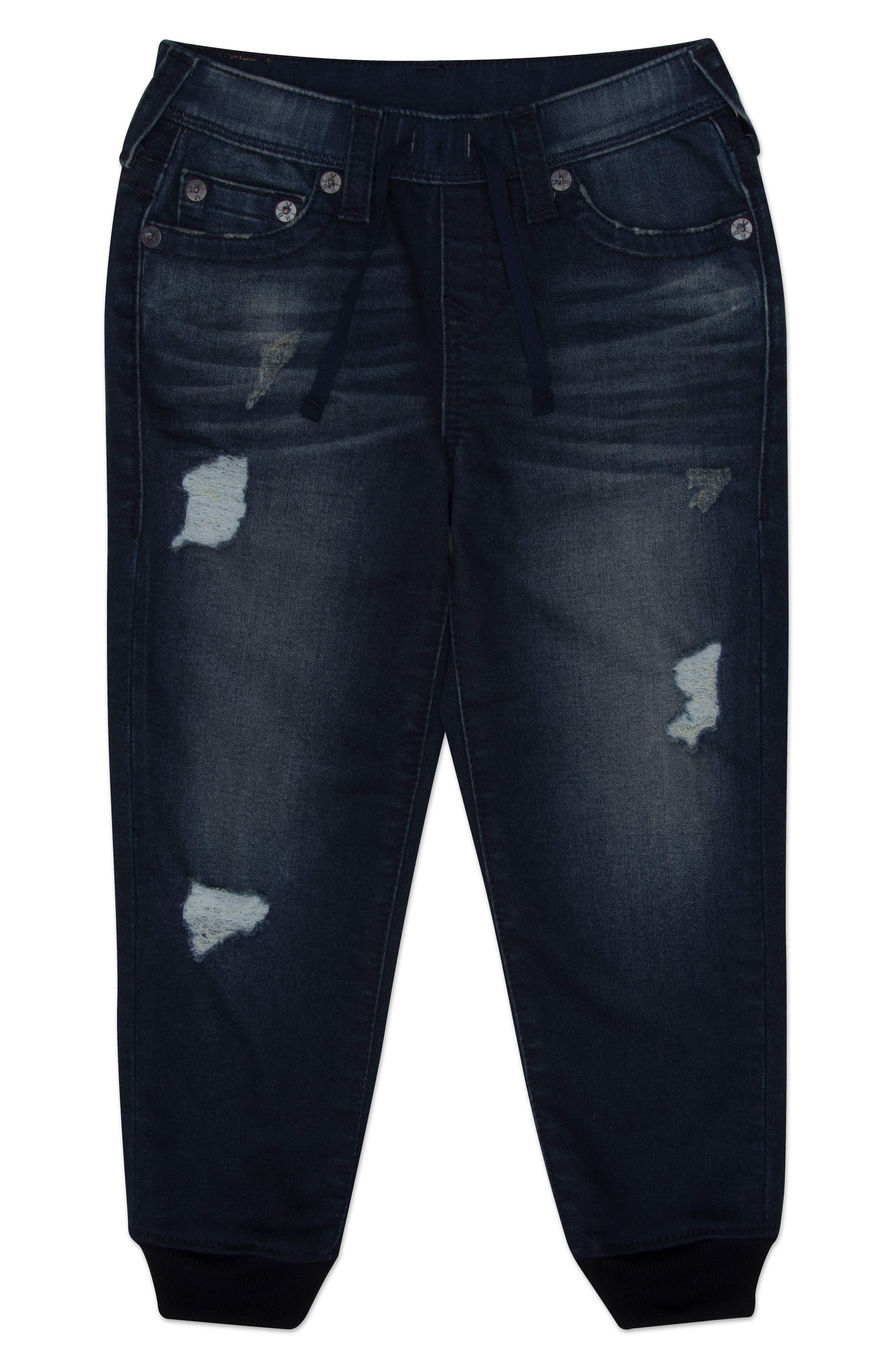 True Religion Brand Jeans Indigo Sweatpants (Toddler Boys & Little Boys)