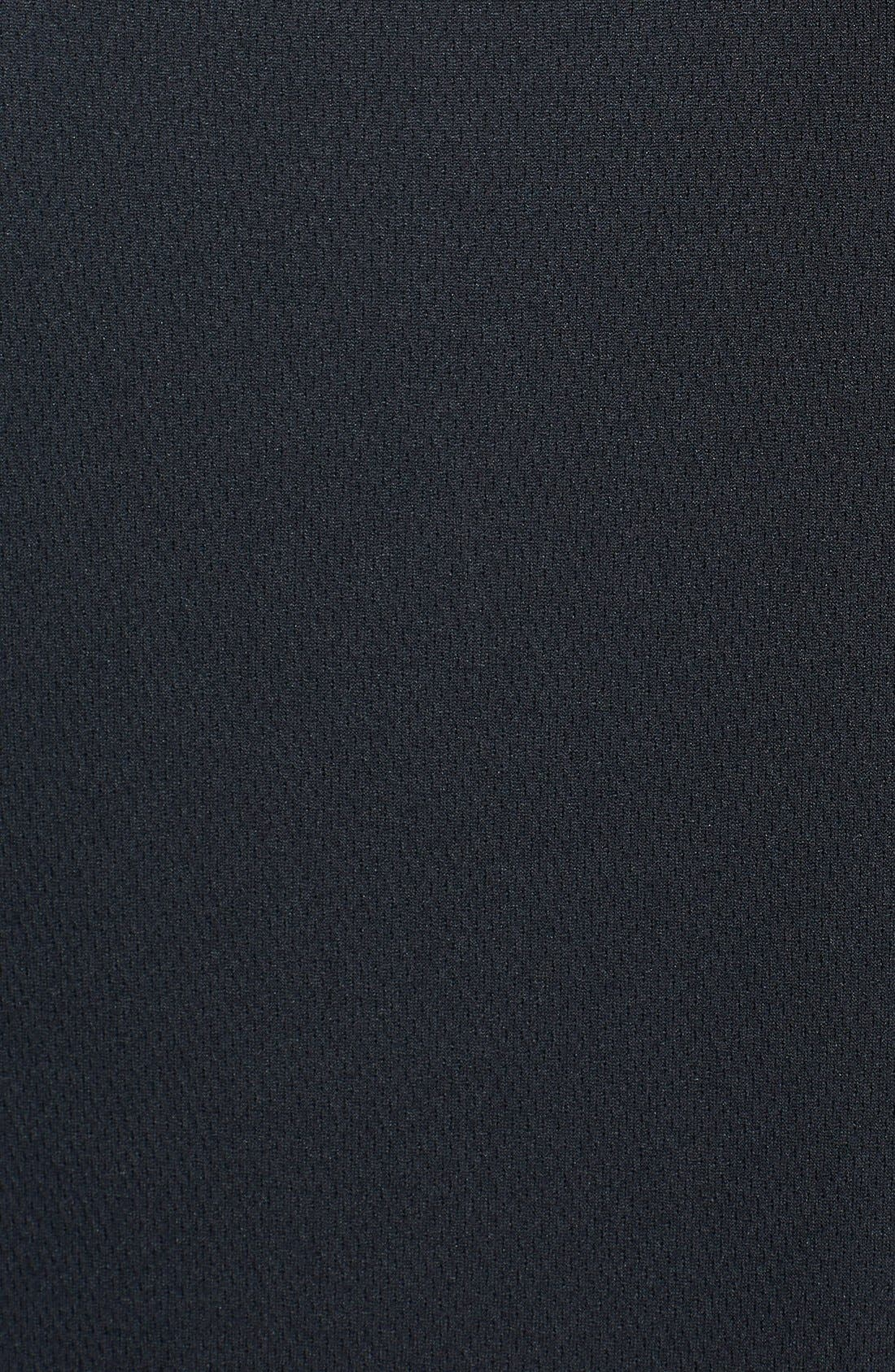 Cincinnati Bengals - Edge DryTec Moisture Wicking Half Zip Pullover,                             Alternate thumbnail 3, color,                             Black