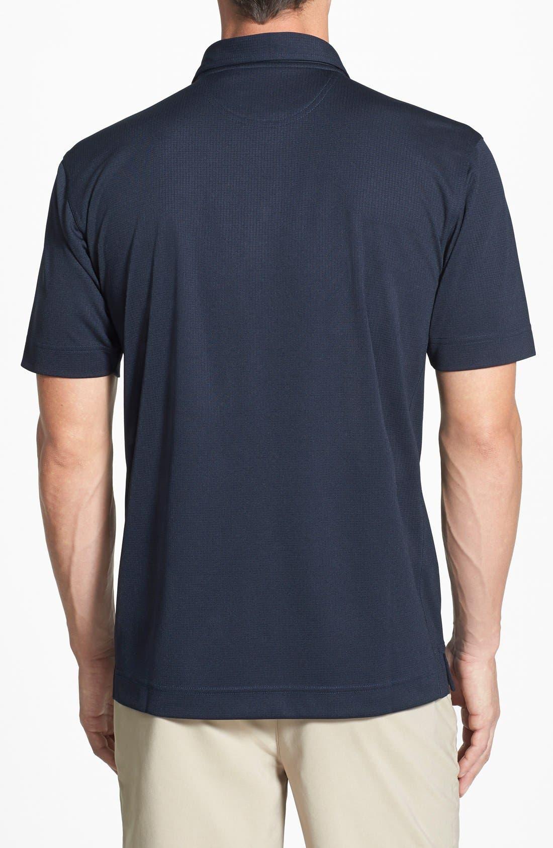 Los Angeles Rams - Genre DryTec Moisture Wicking Polo,                             Alternate thumbnail 2, color,                             Navy Blue