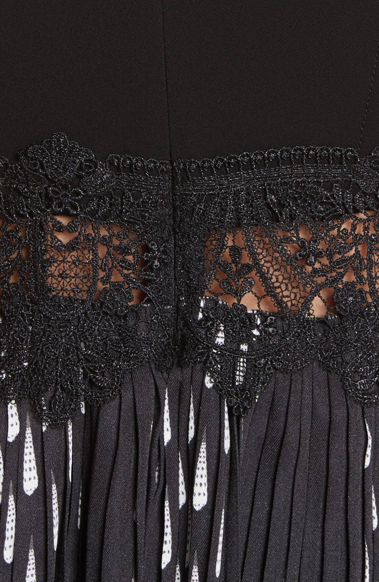 Alternate Image 5  - Yigal Azrouël Studded Coral Embroidered Pleated Top