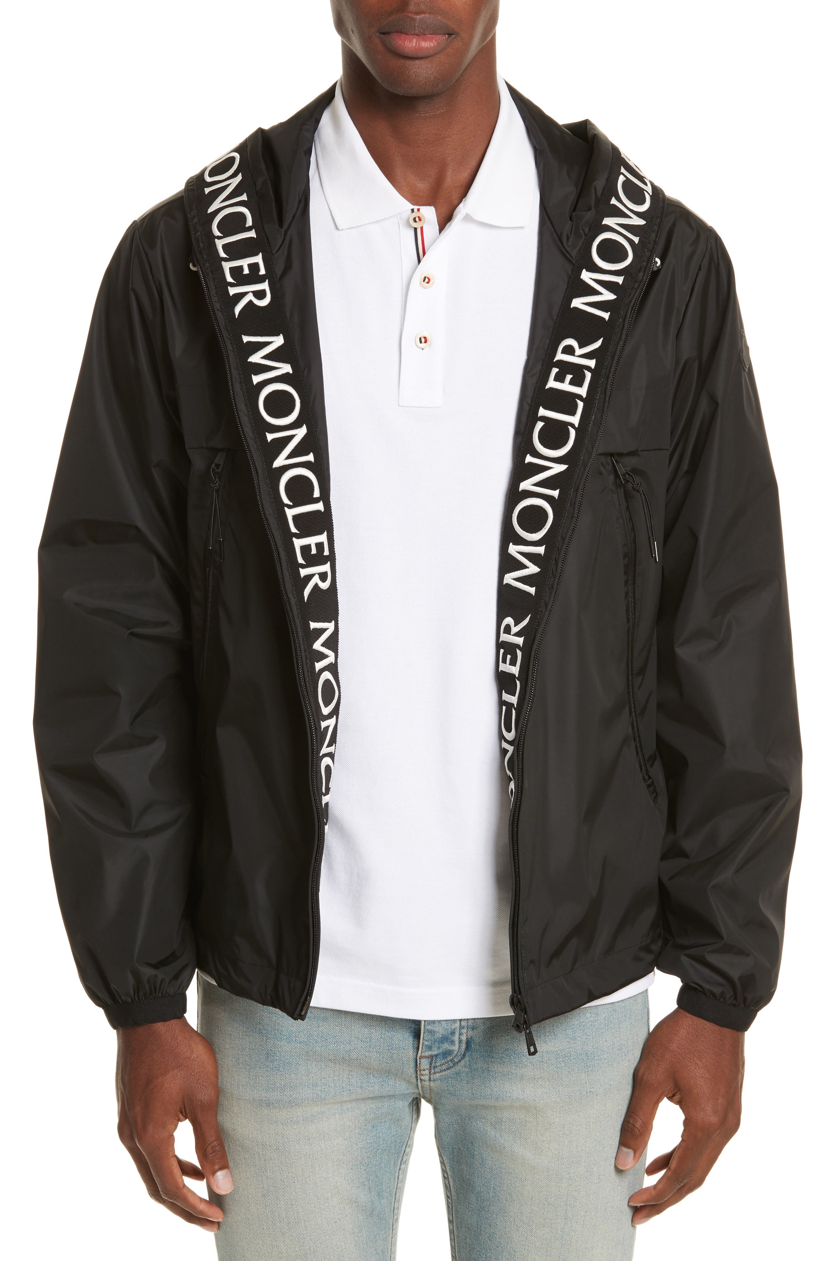 Massereau Zip Jacket,                             Main thumbnail 1, color,                             Black