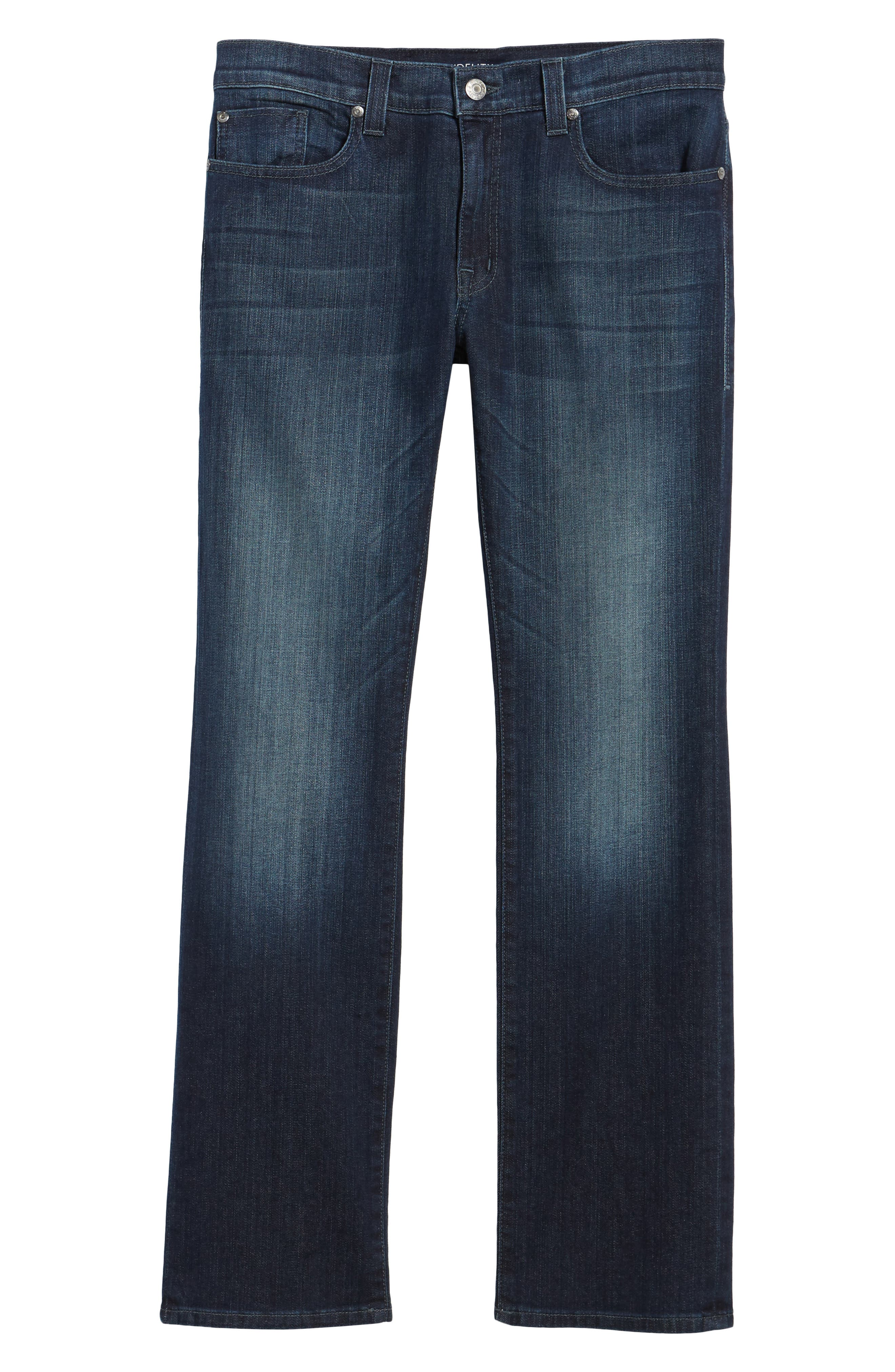 50-11 Relaxed Fit Jeans,                             Alternate thumbnail 6, color,                             Militia Blue