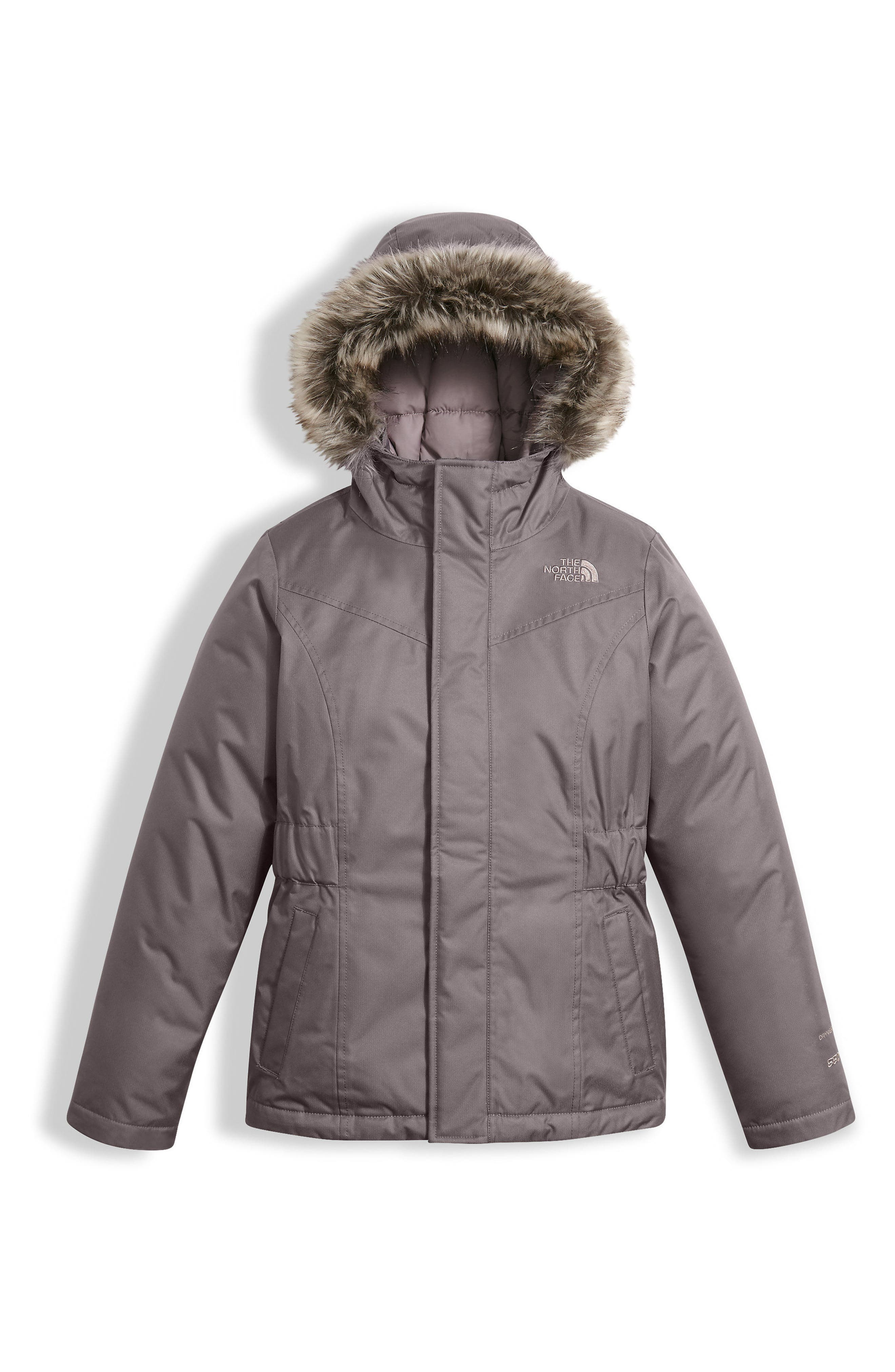 Alternate Image 1 Selected - The North Face Greenland Waterproof 550-Fill Down Jacket (Little Girls & Big Girls)