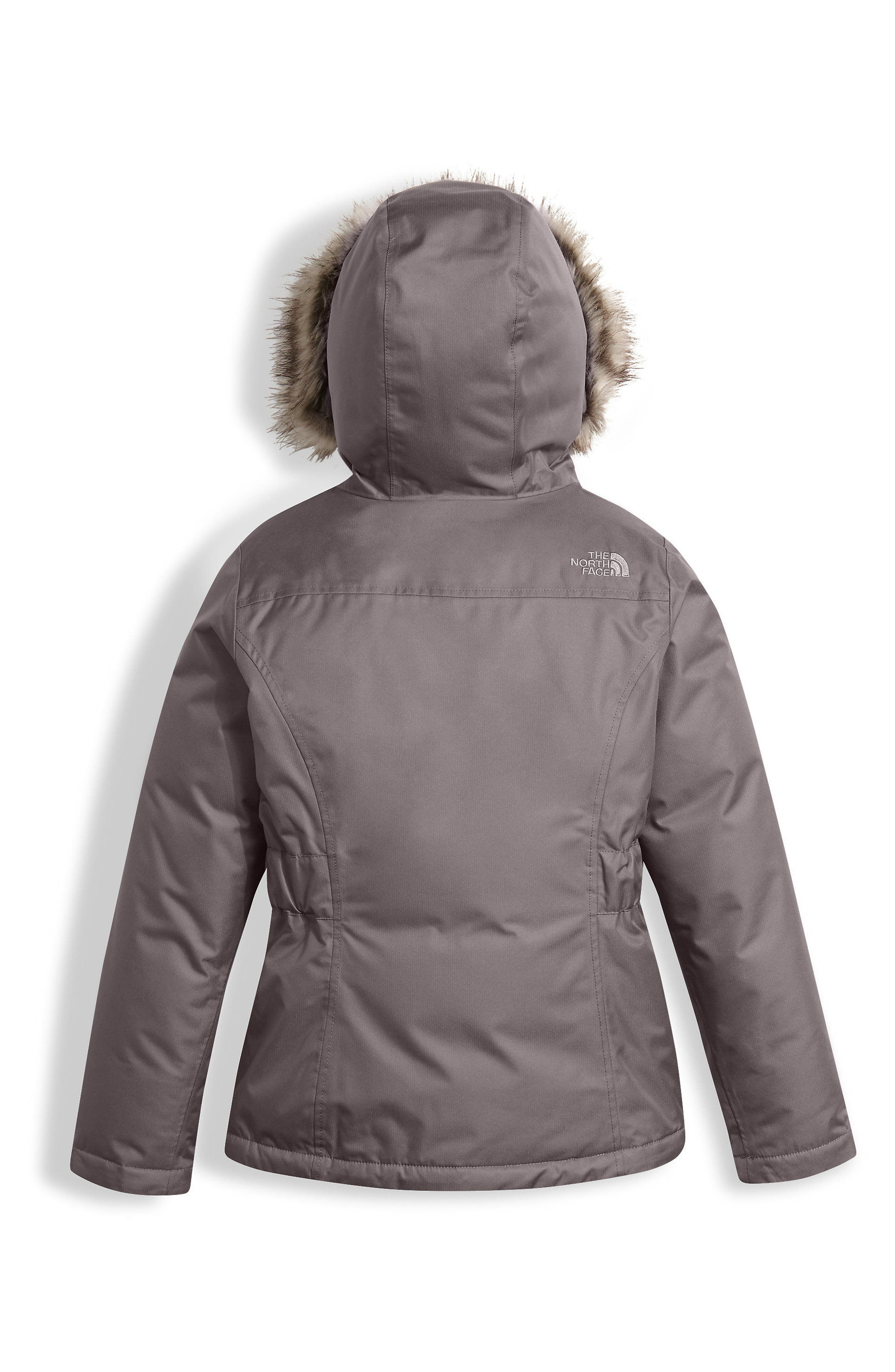 Alternate Image 2  - The North Face Greenland Waterproof 550-Fill Down Jacket (Little Girls & Big Girls)