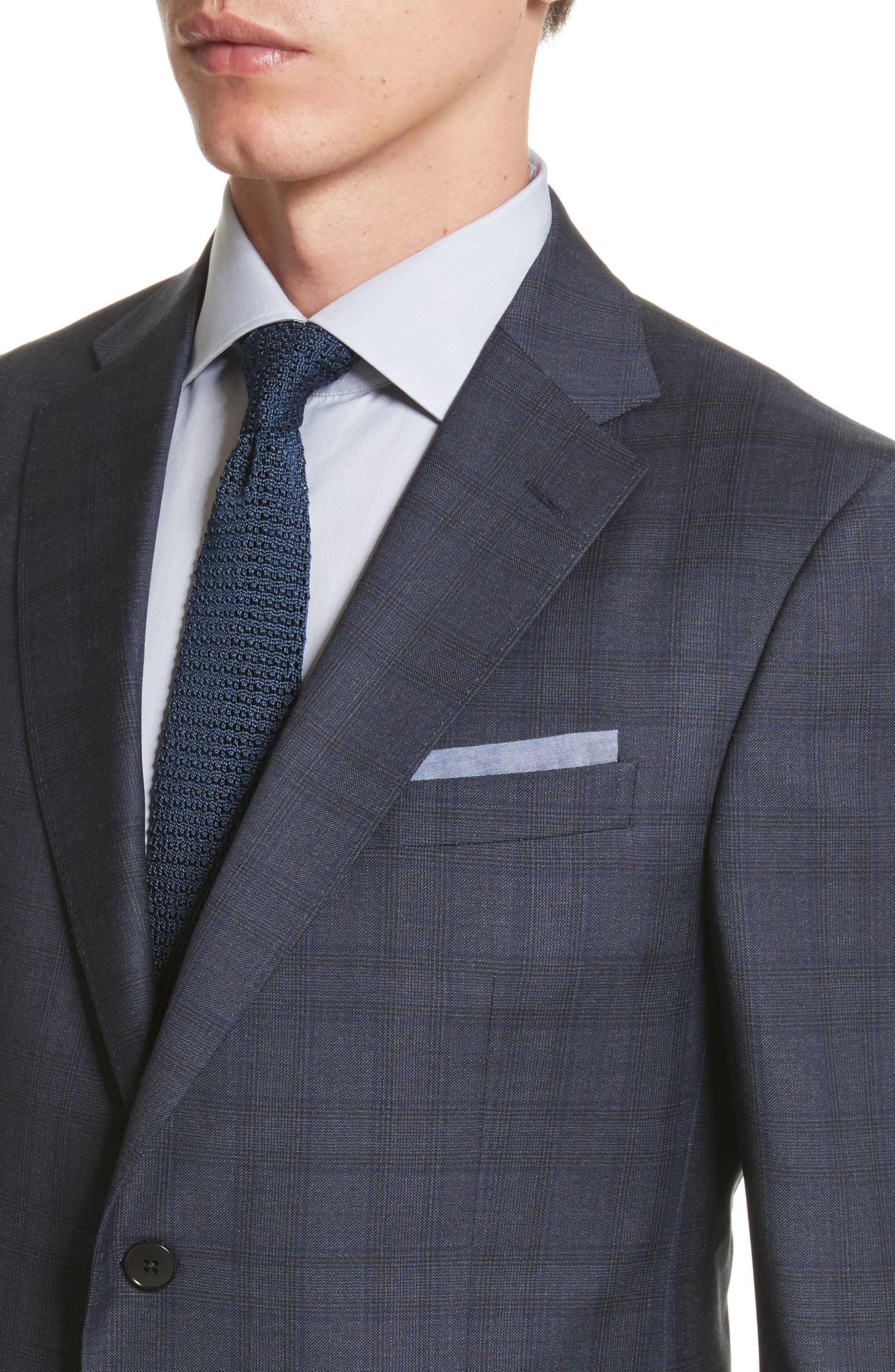 Alternate Image 4  - Z Zegna Classic Fit Check Wool Suit