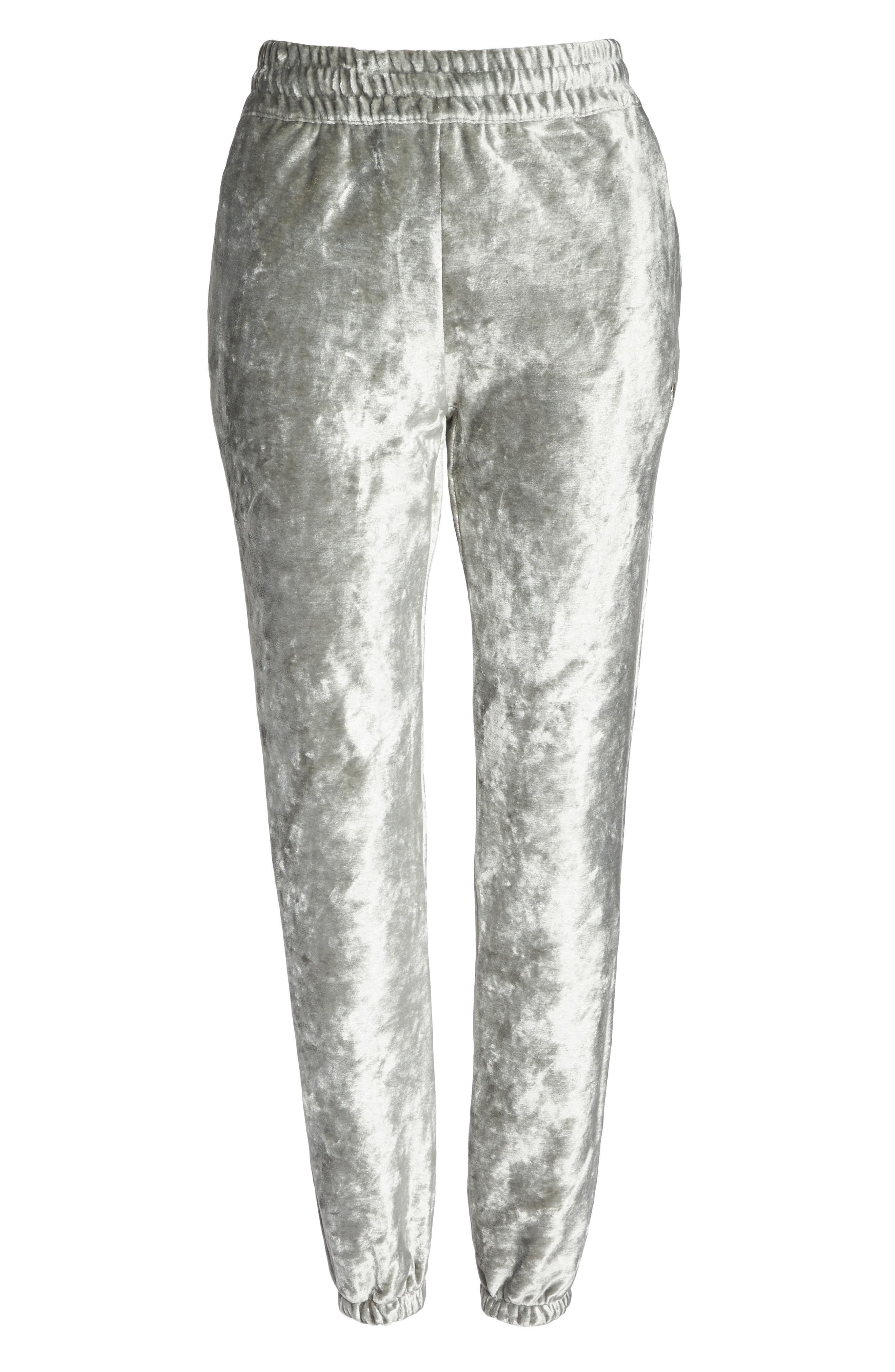 NikeLab Essentials Women's Velour Pants,                             Alternate thumbnail 7, color,                             Dark Stucco