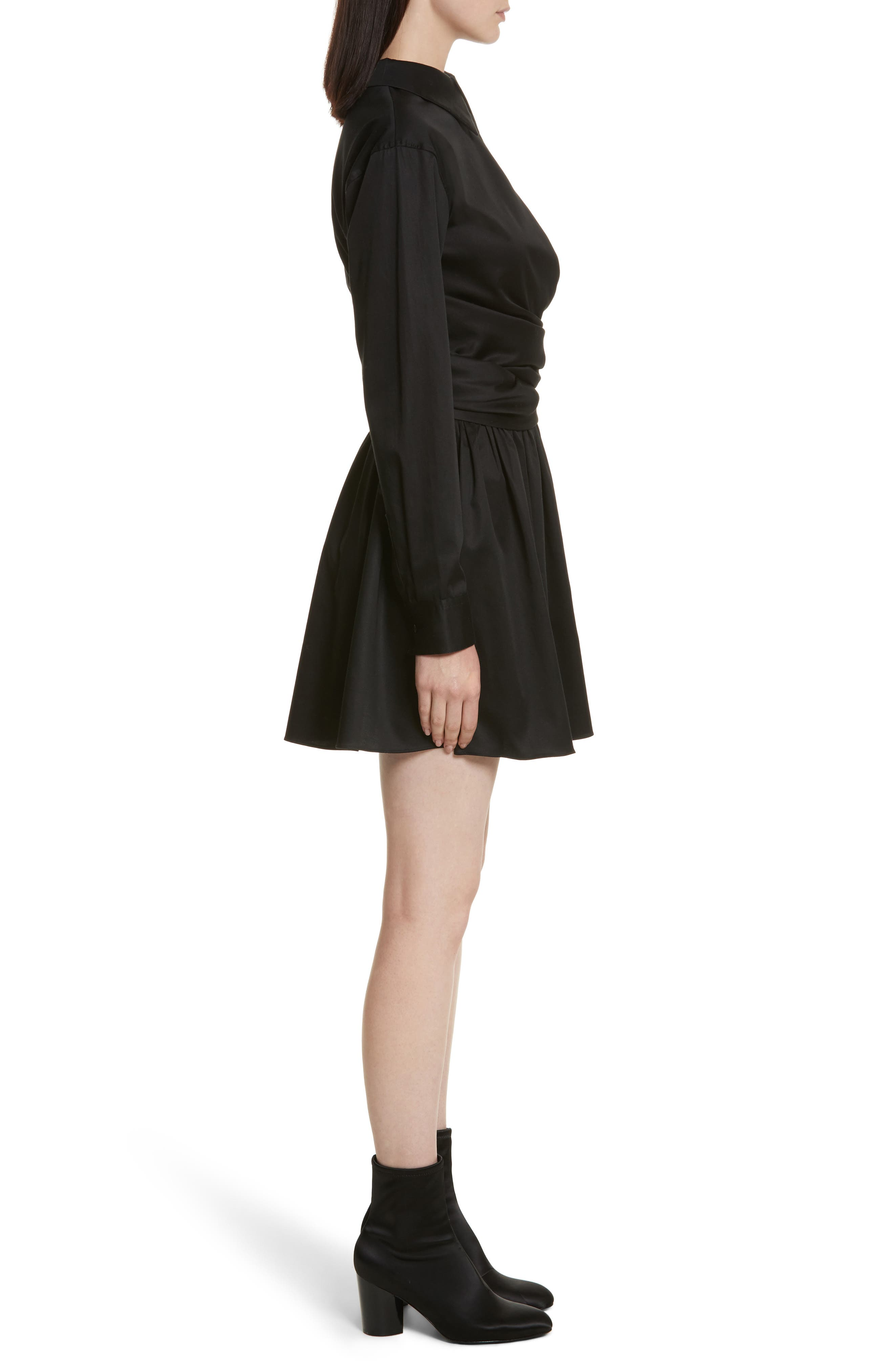 Alternate Image 3  - Opening Ceremony Wrap Front Sateen Dress