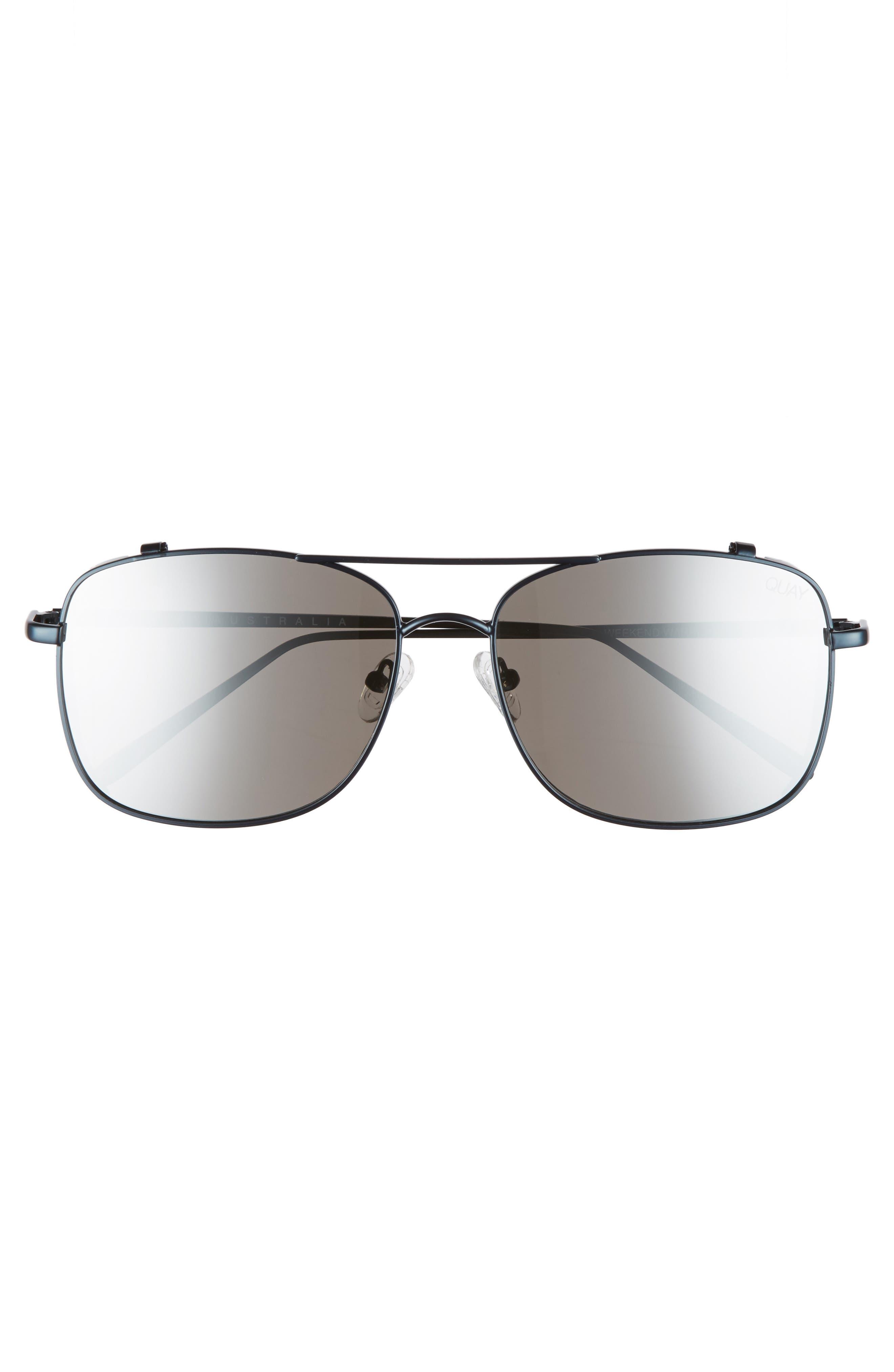 Alternate Image 2  - Quay Australia Weekend Warrior 60mm Navigator Sunglasses