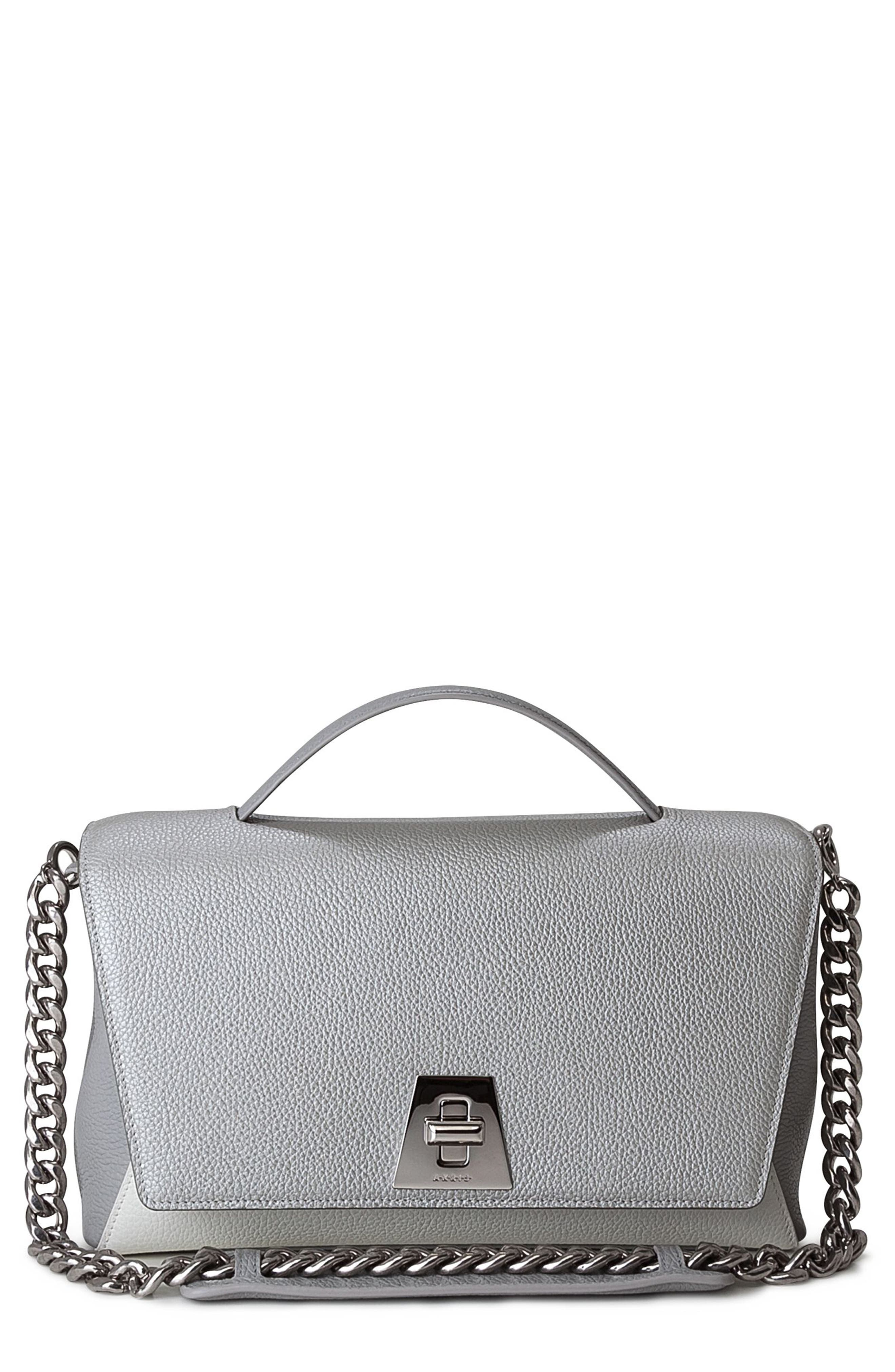 Akris Anouk Day Leather Shoulder Bag