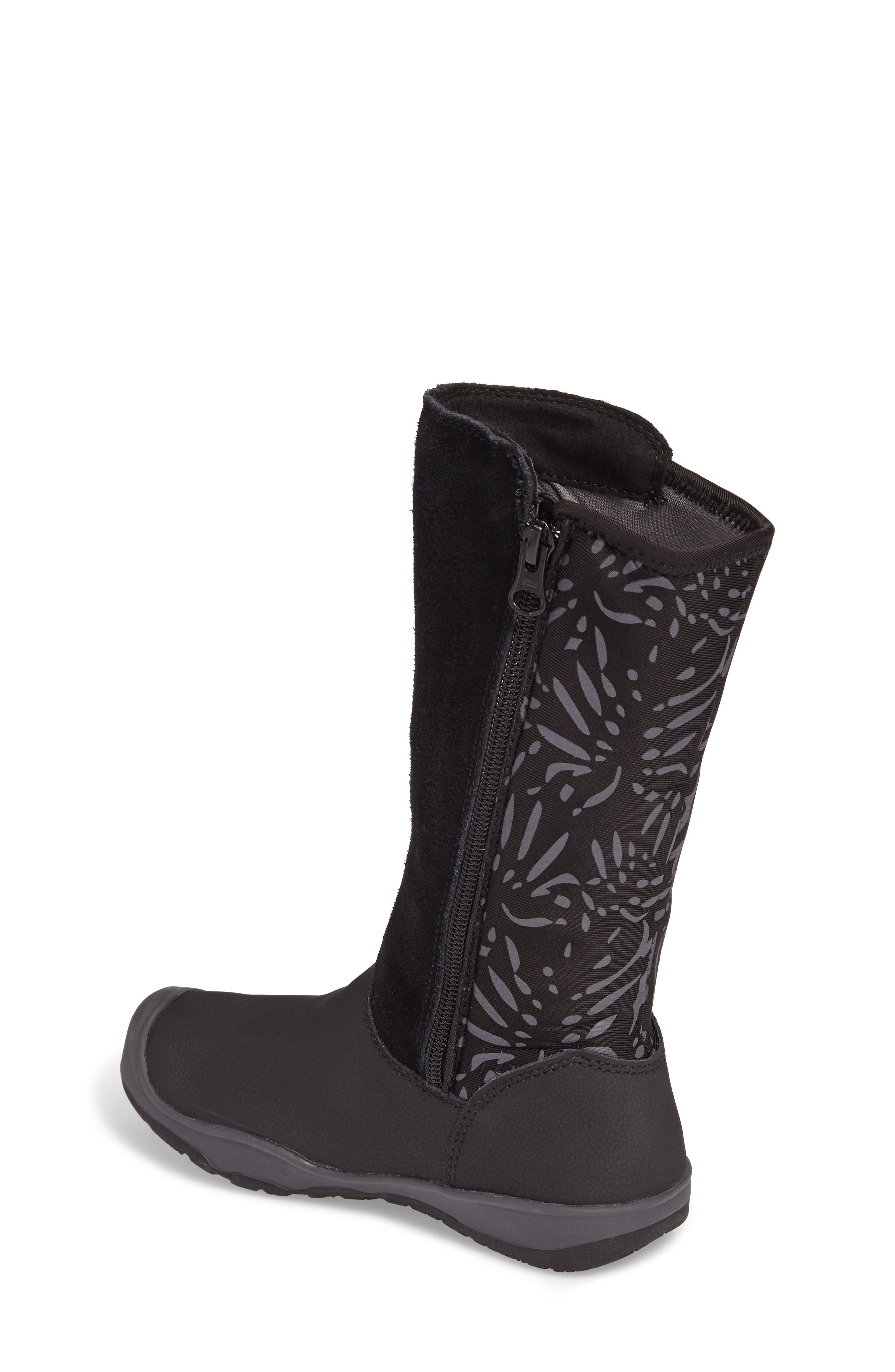 Moxie Tall Waterproof Boot,                             Alternate thumbnail 2, color,                             Black/ Magnet