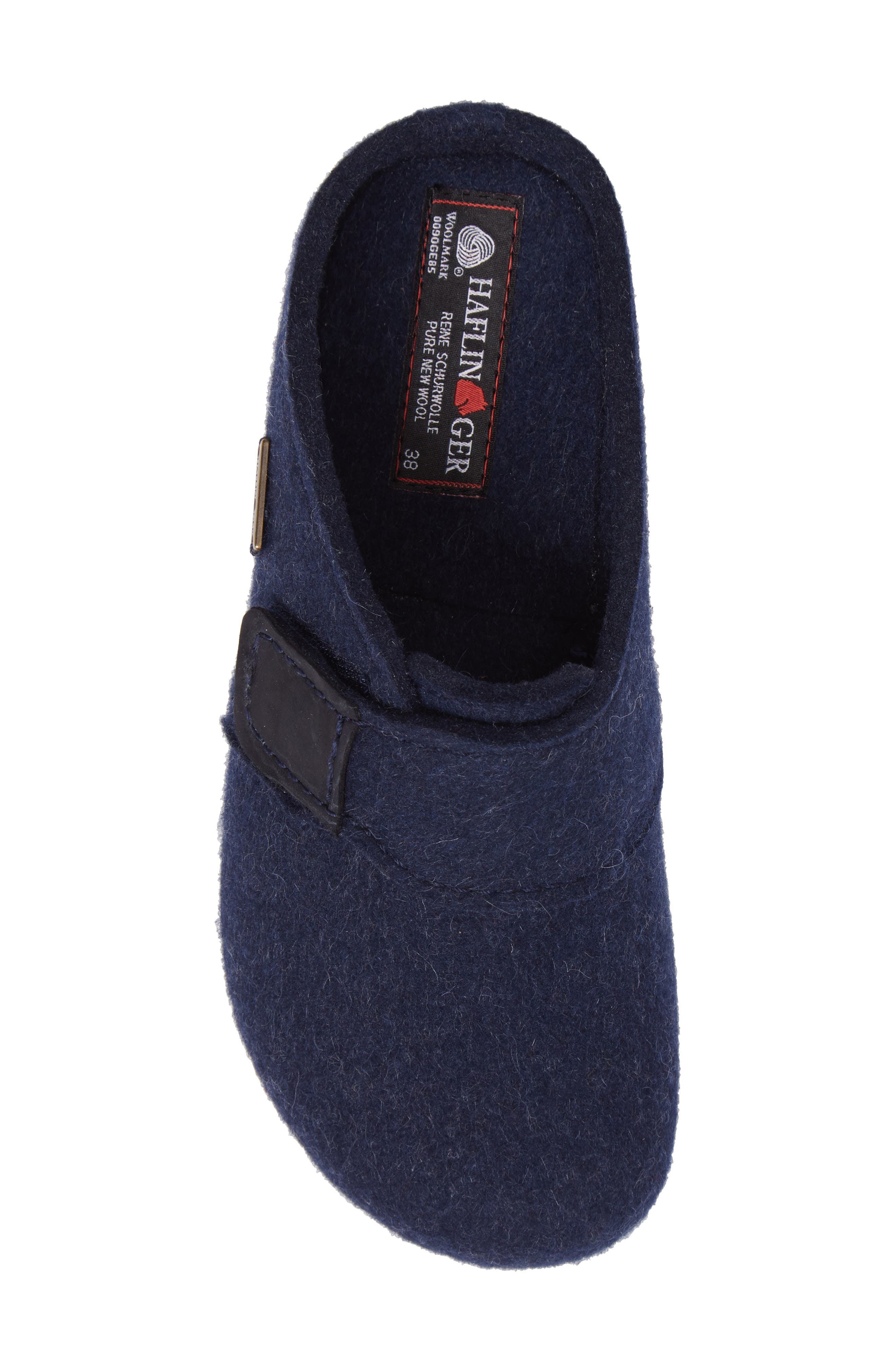 Grizzly Journey Clog Slipper,                             Alternate thumbnail 5, color,                             Captains Blue Wool