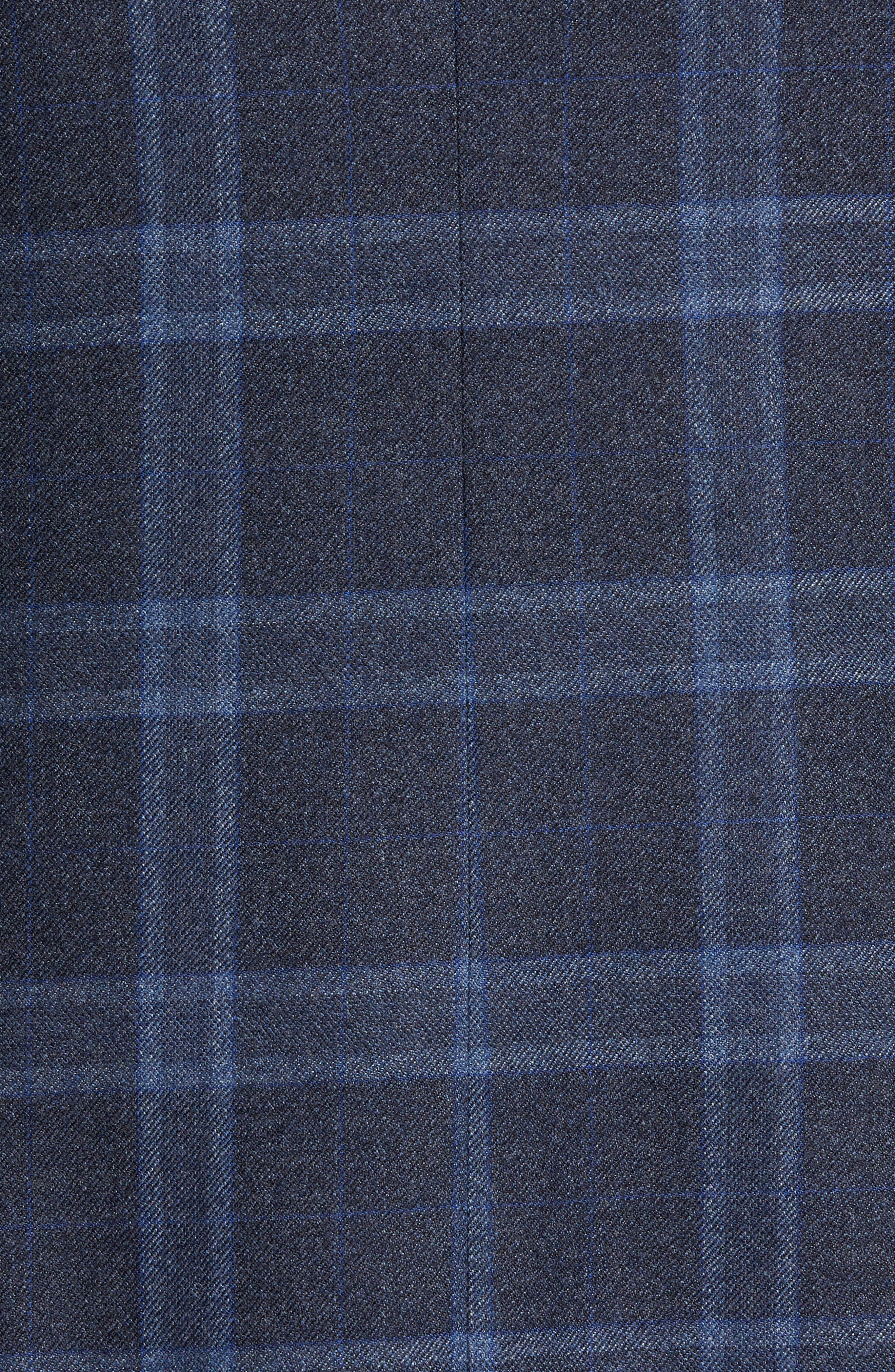 Alternate Image 5  - Hart Schaffner Marx Classic Fit Plaid Wool Sport Coat