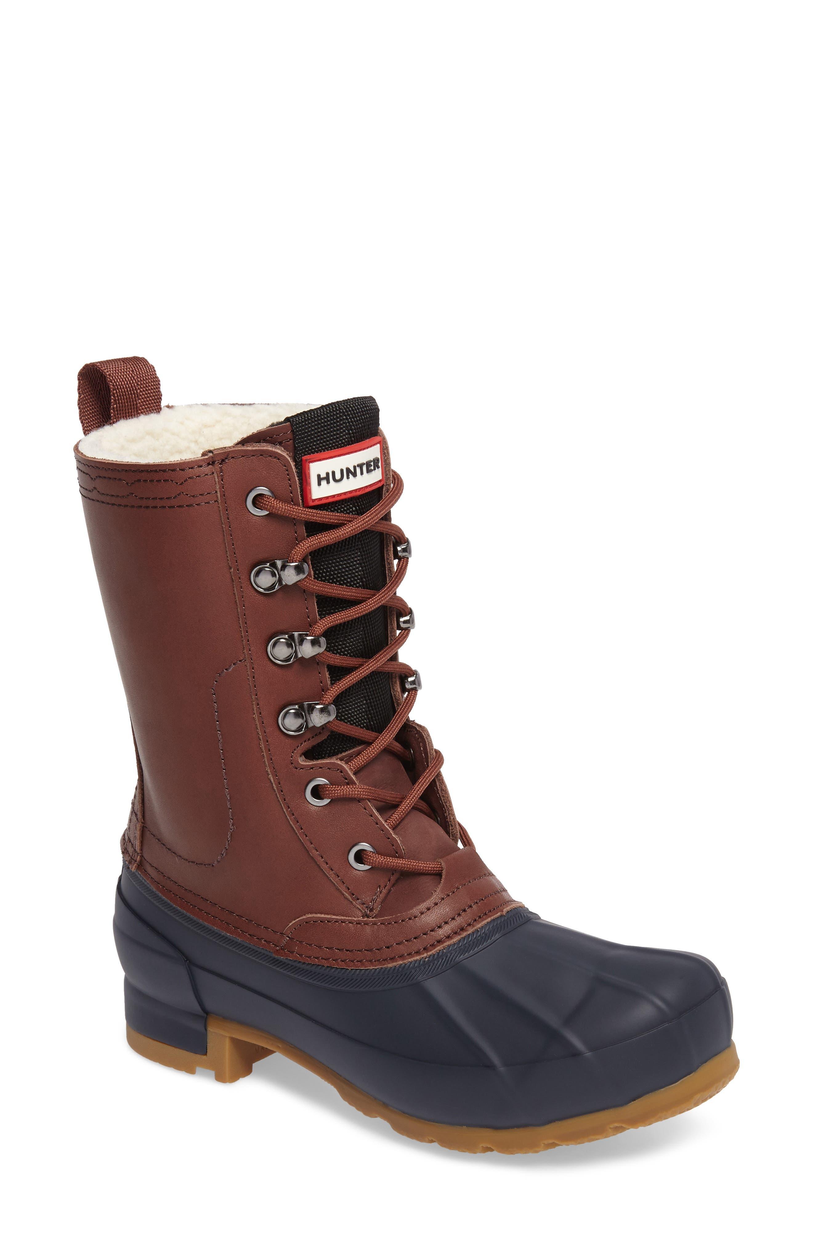 Alternate Image 1 Selected - Hunter Original Insulated Boot (Women)