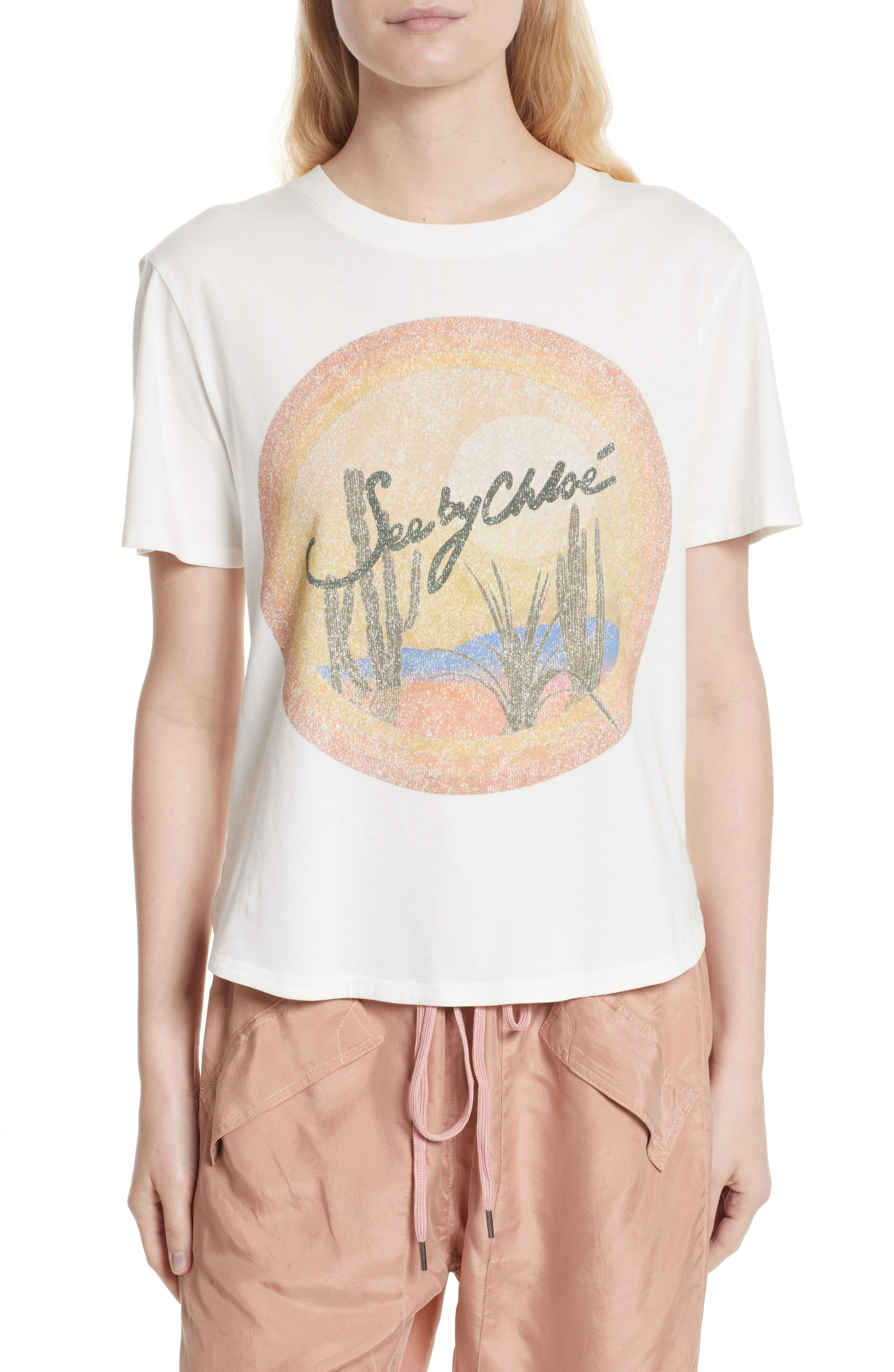 See by Chloé Graphic Tee