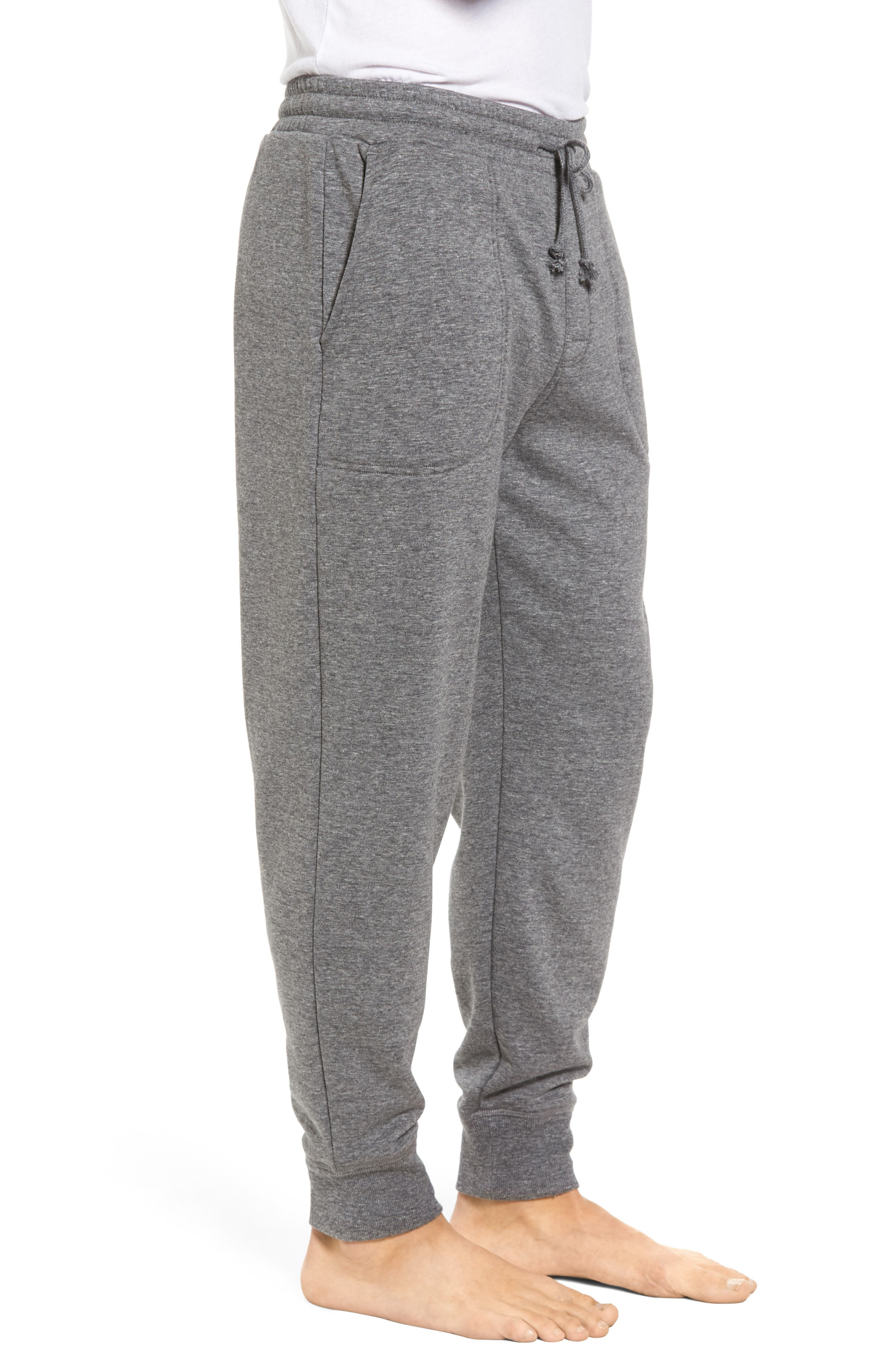 Alternate Image 3  - Nordstrom Men's Shop French Terry Pajama Pants