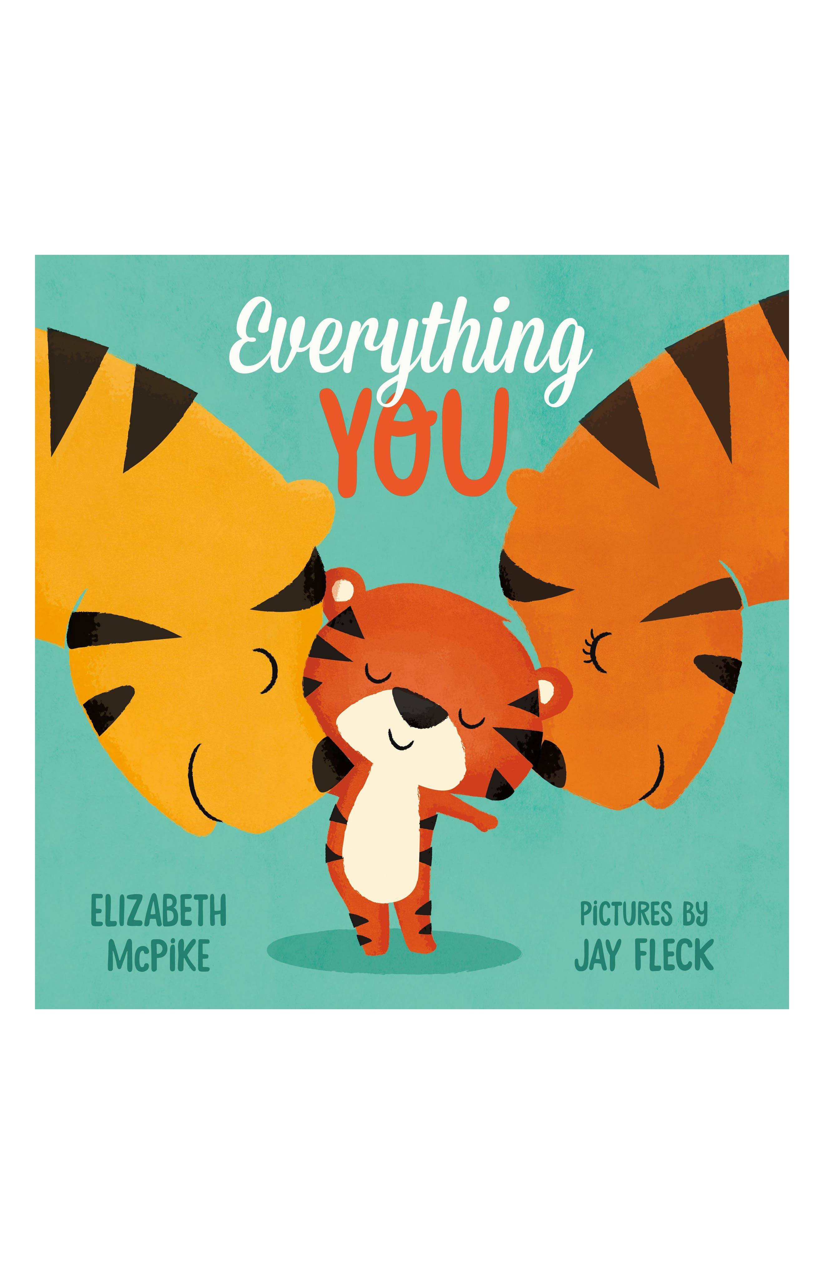 'Everything You' Book,                             Main thumbnail 1, color,                             Blue