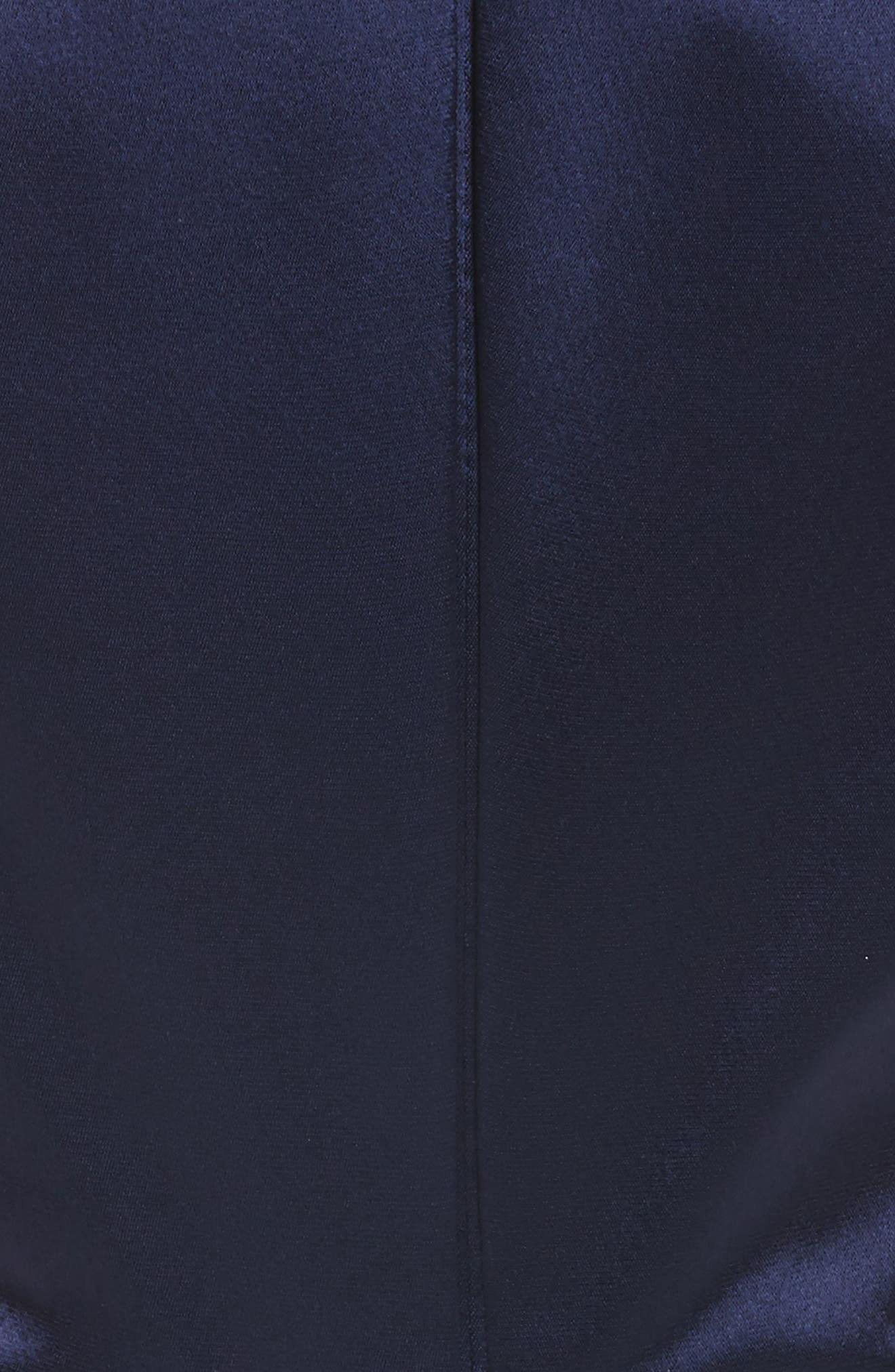 Alternate Image 5  - Talbot Runhof Kombo Draped Matte Crepe Gown