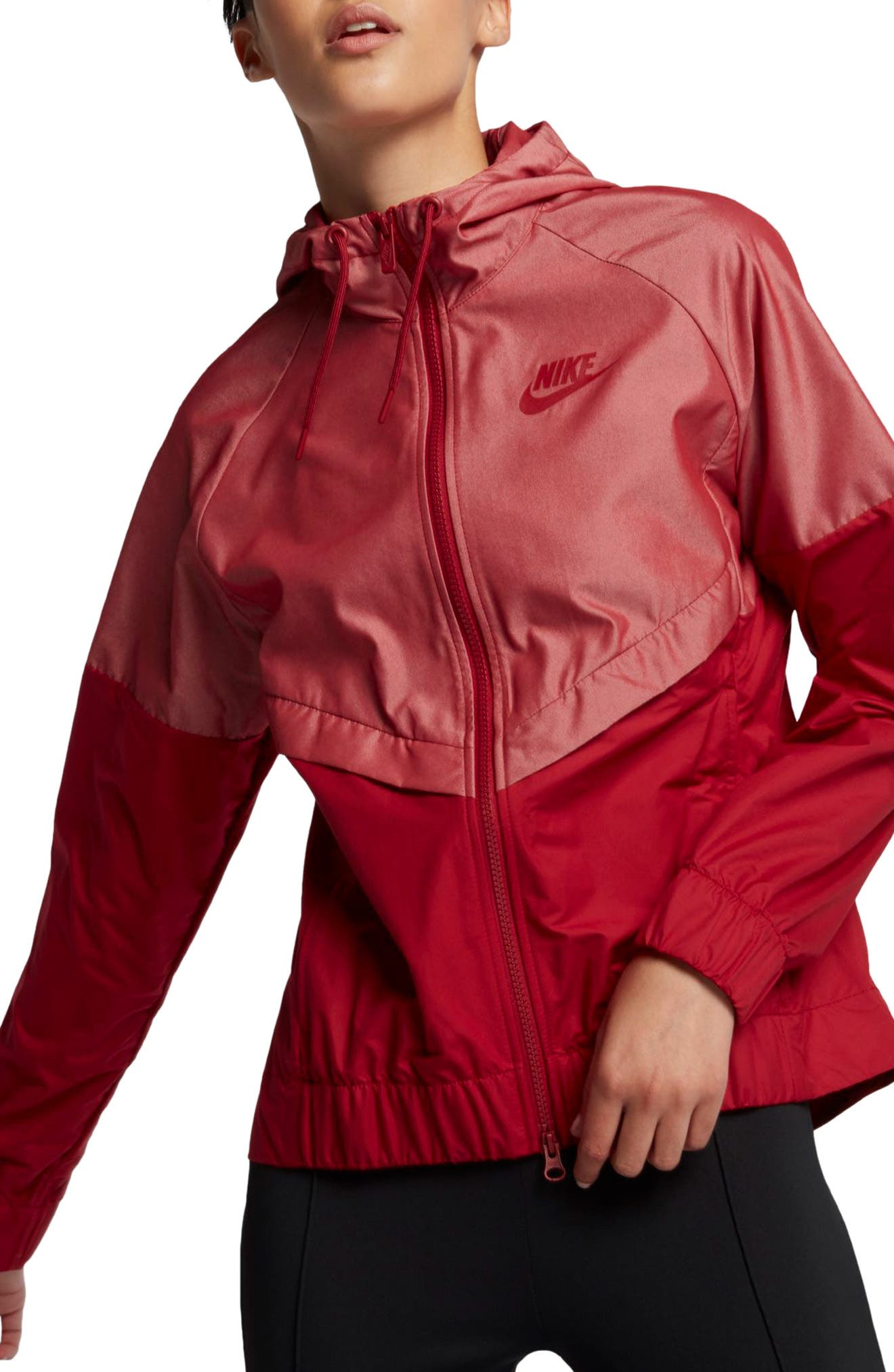 Windrunner Jacket,                         Main,                         color, Tough Red/ Tough Red