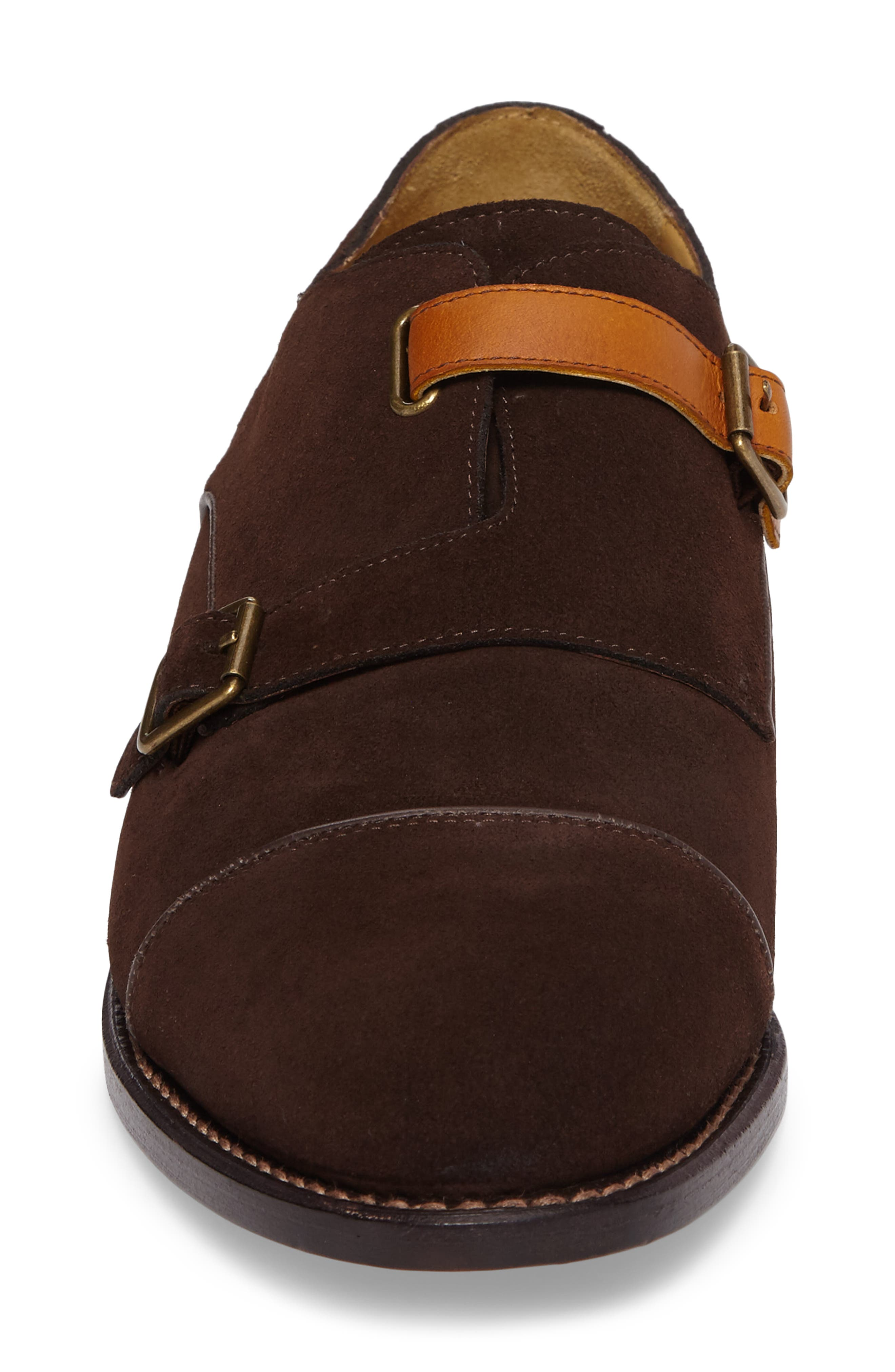Alternate Image 4  - Michael Bastian Brando Cap Toe Monk Shoe (Men)
