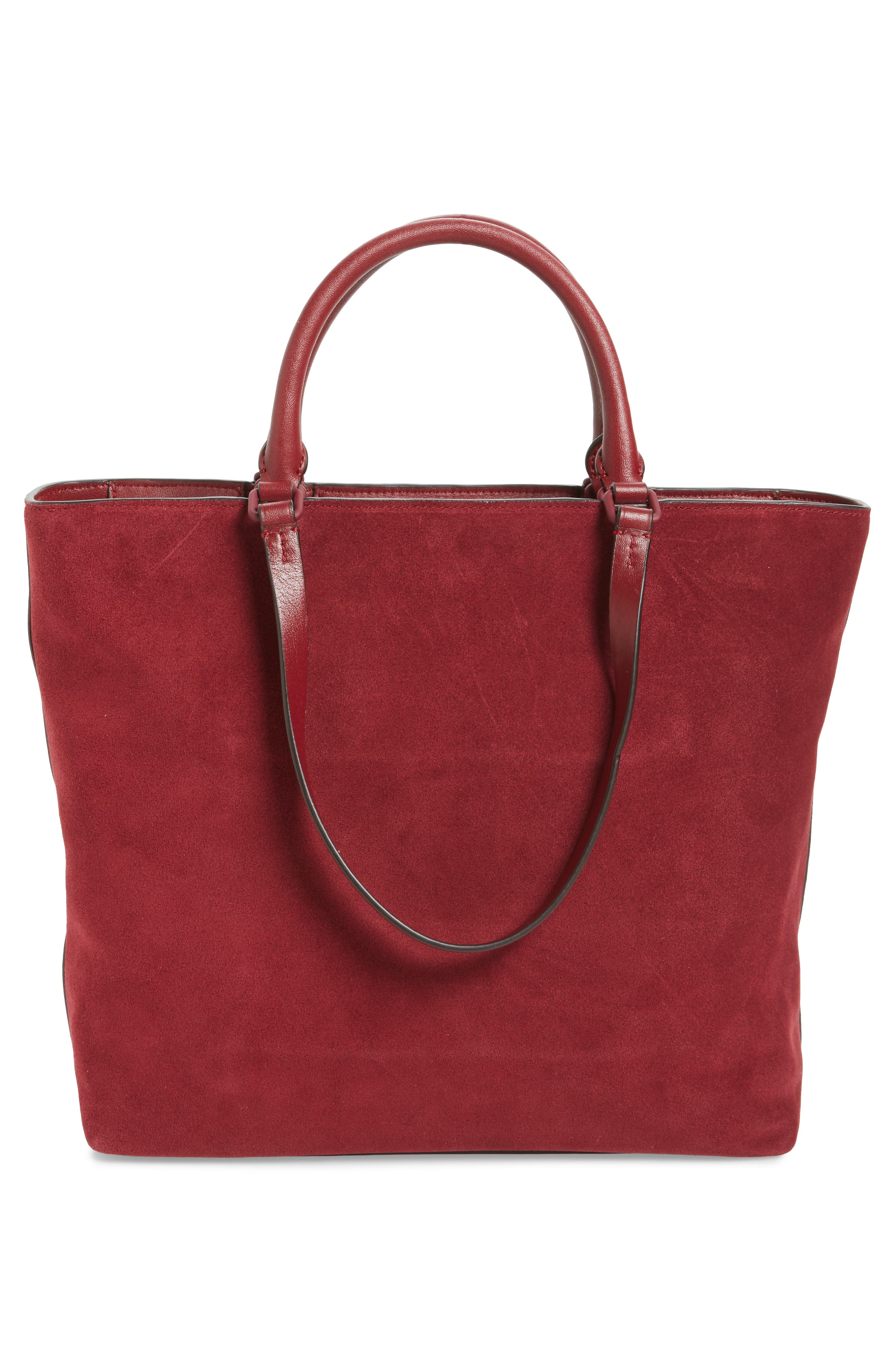 Alternate Image 2  - Tory Burch Charlie Suede Tote
