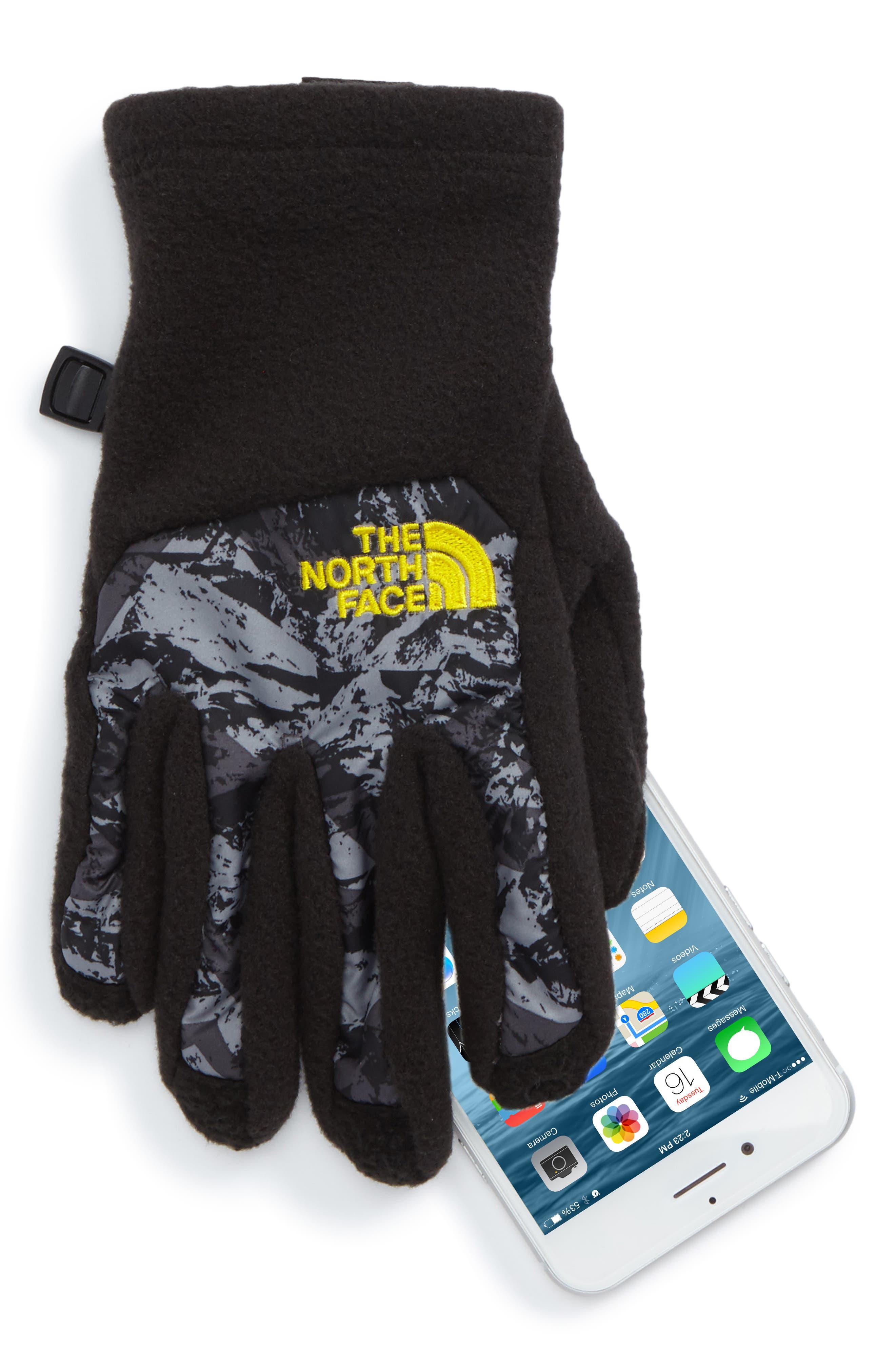 Alternate Image 2  - The North Face Denali Etip™ Gloves (Kids)