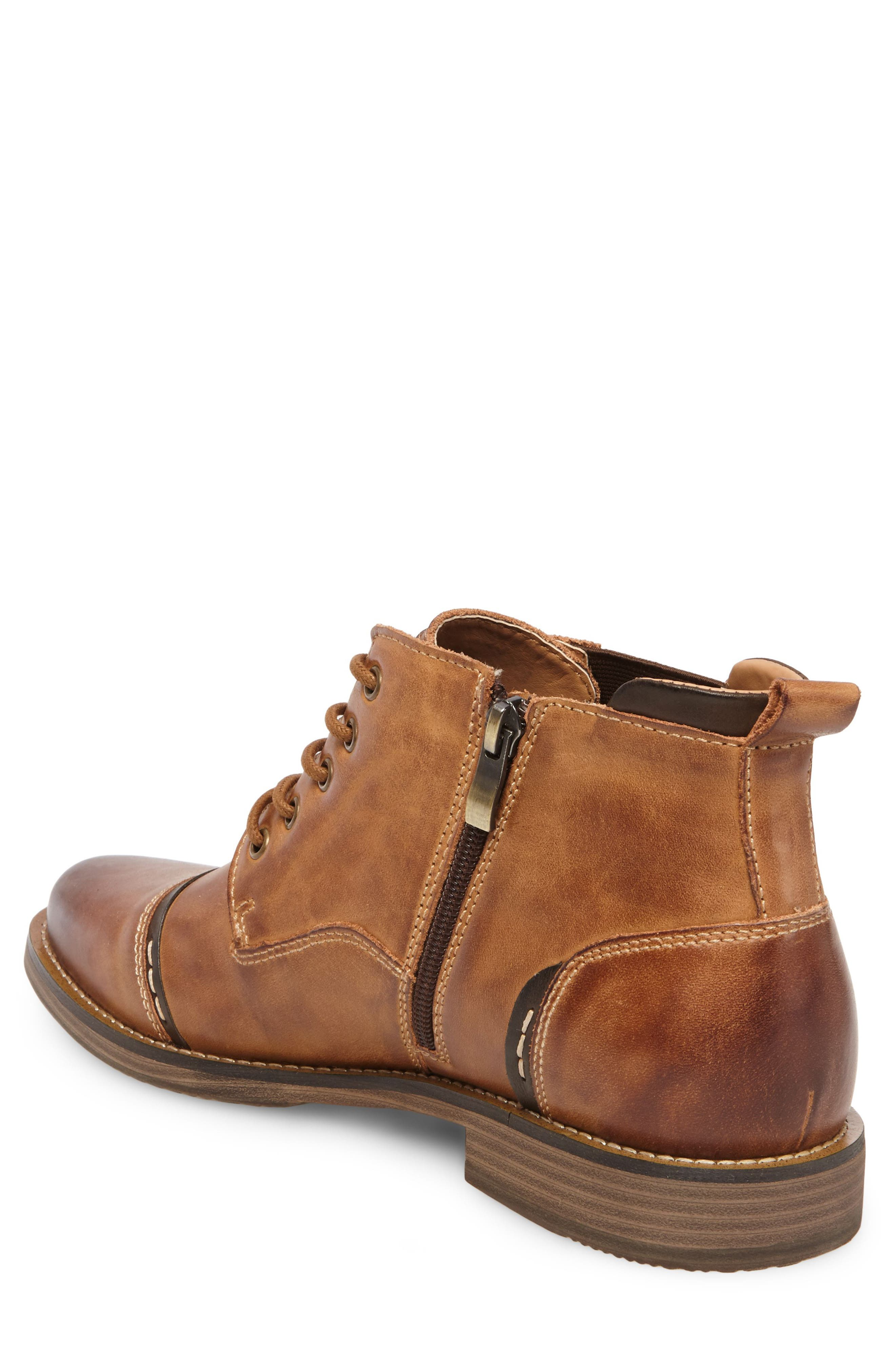 Alternate Image 2  - Steve Madden Proxy Cap Toe Boot (Men)