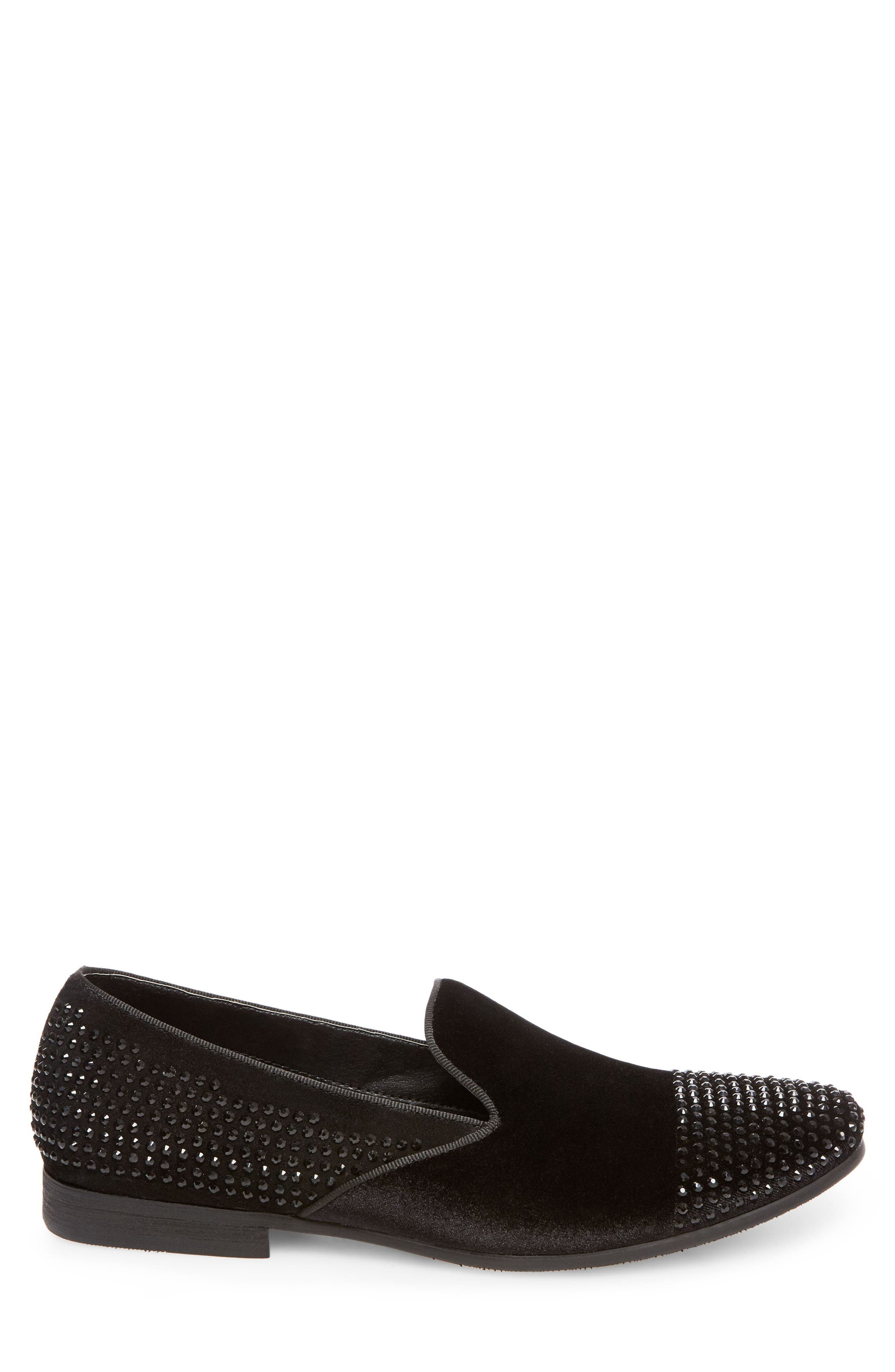 Clarity Loafer,                             Alternate thumbnail 3, color,                             Black Fabric