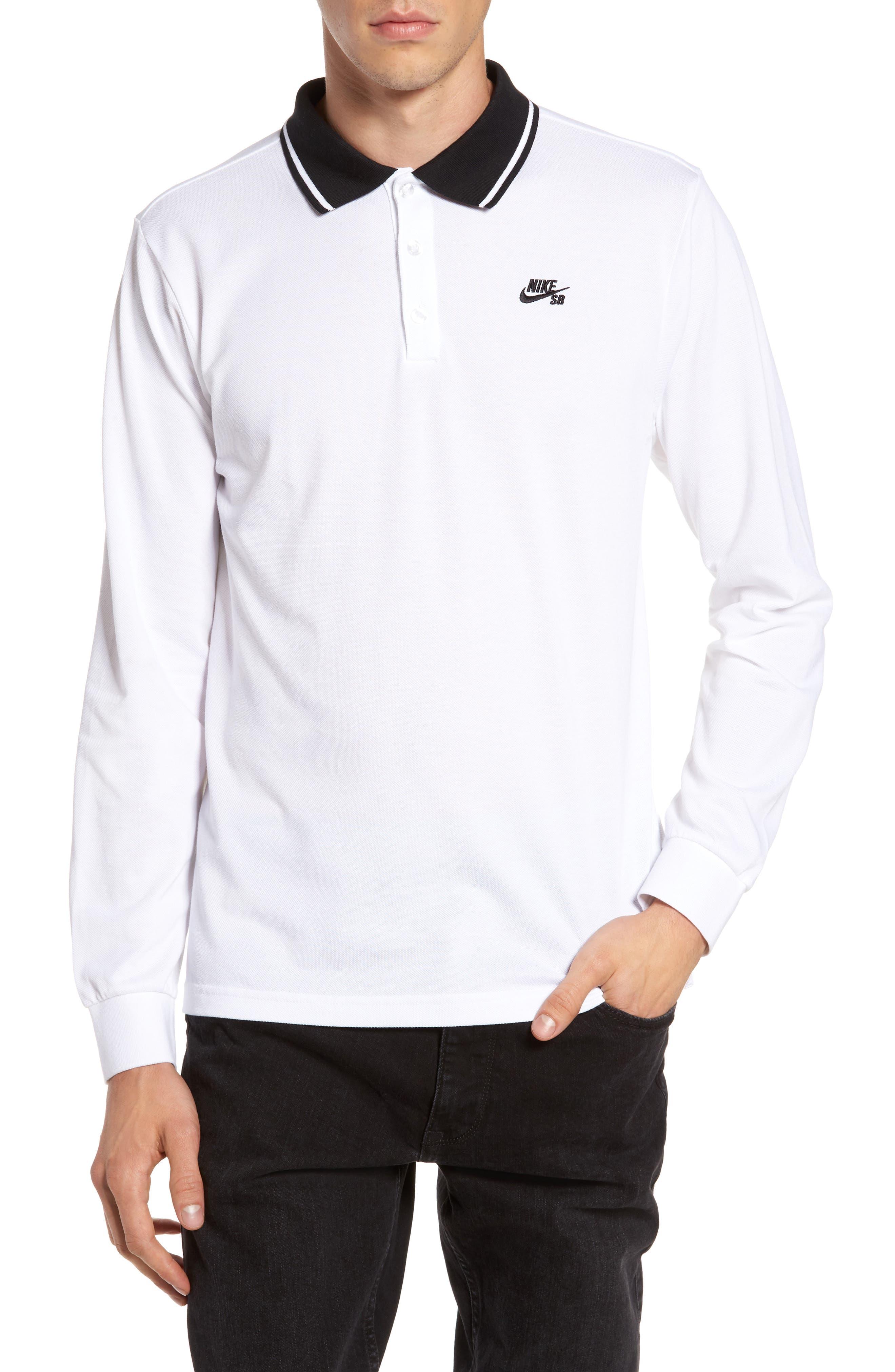 Alternate Image 1 Selected - Nike SB Piqué Polo