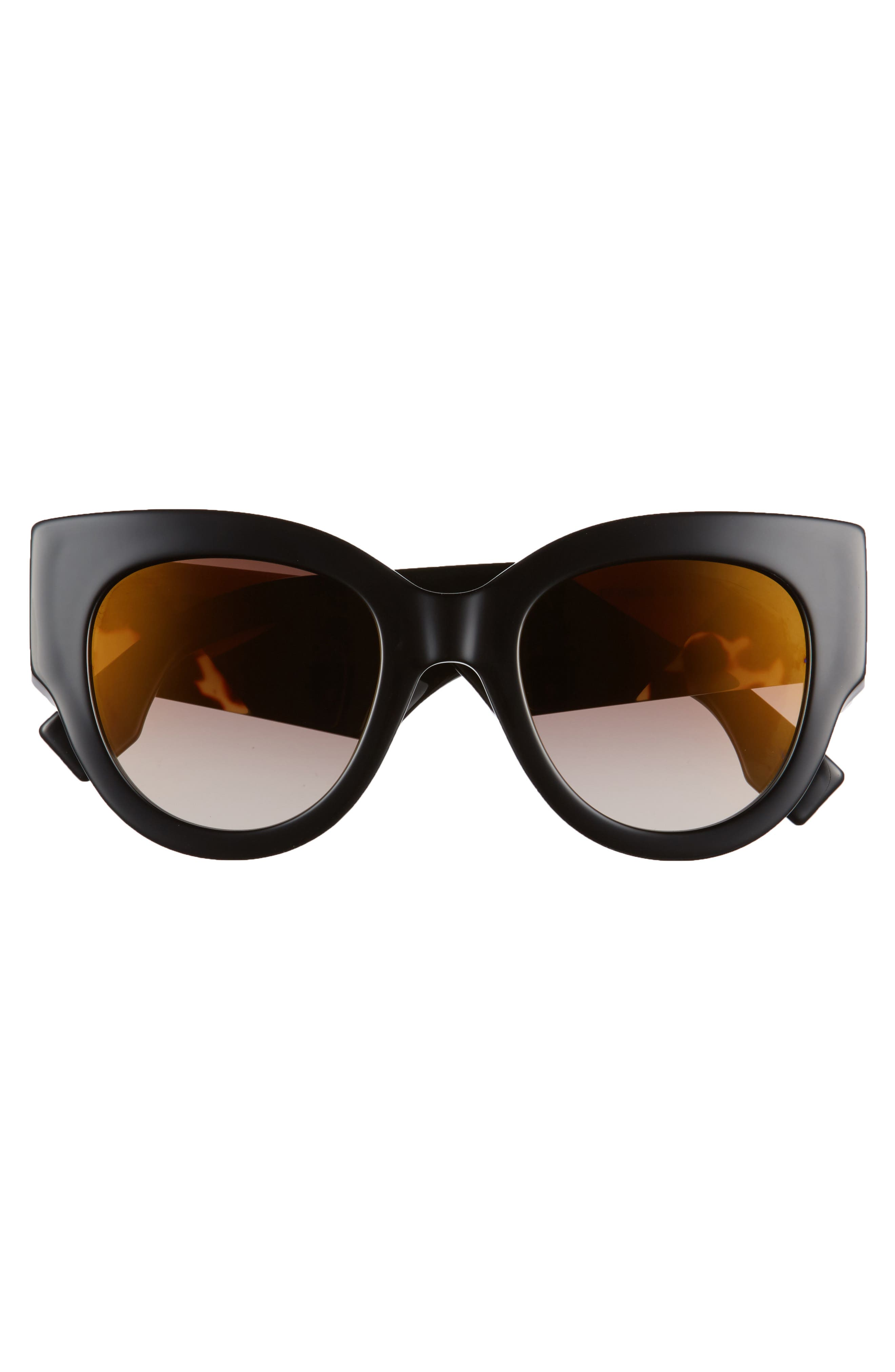 Alternate Image 3  - Fendi 51mm Cat Eye Sunglasses