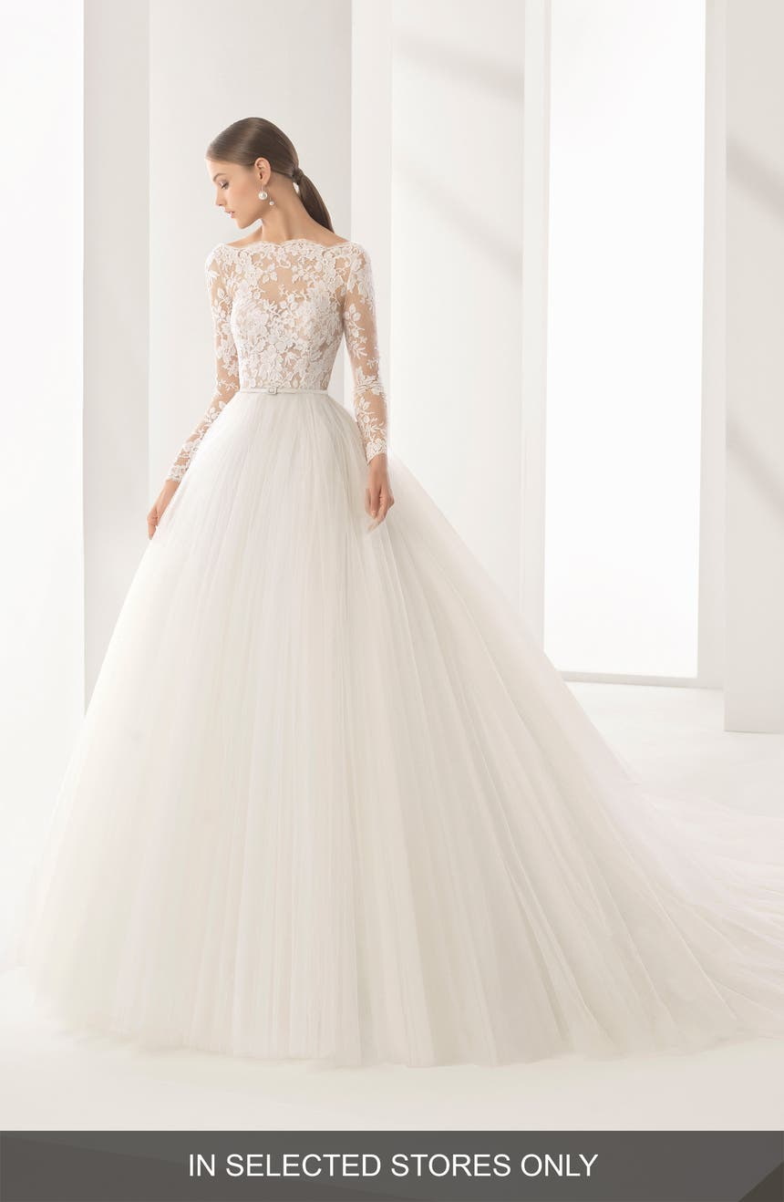 Rosa Clara Couture Niher Lace Tulle Ballgown