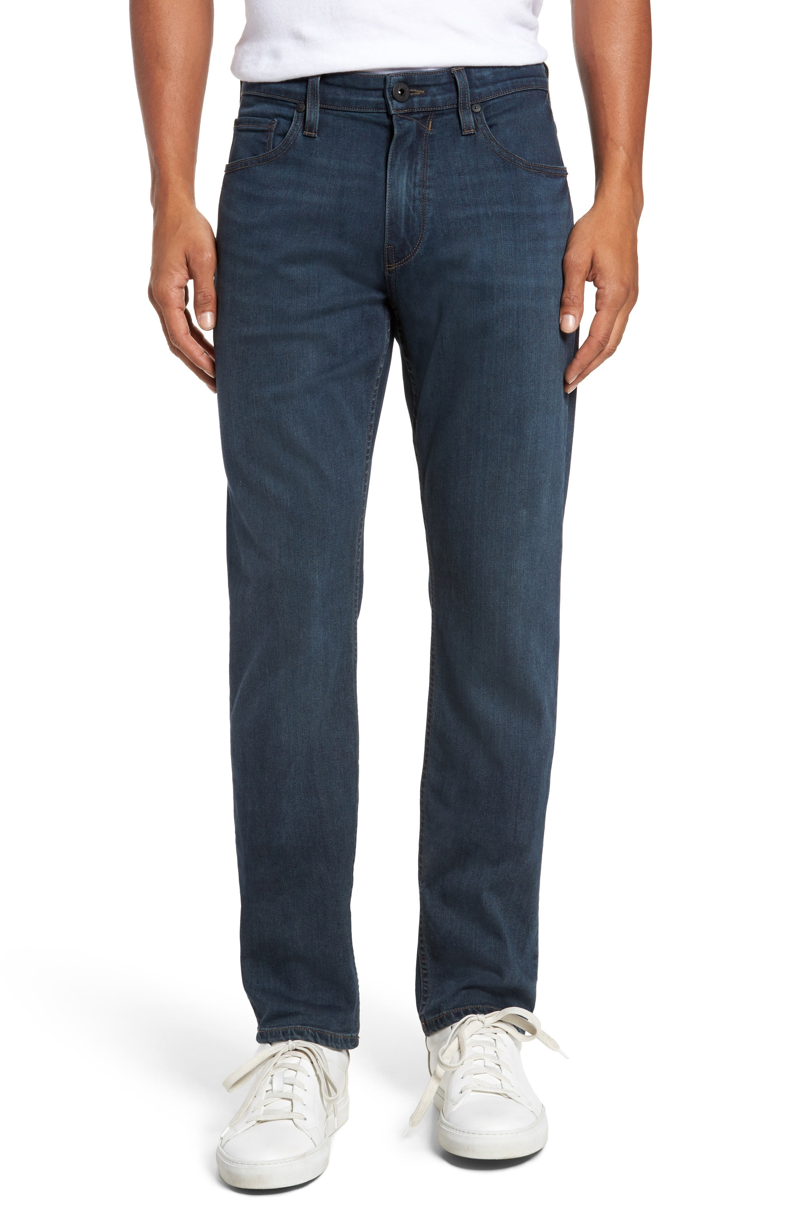 PAIGE Federal Slim Straight Fit Jeans (Points)